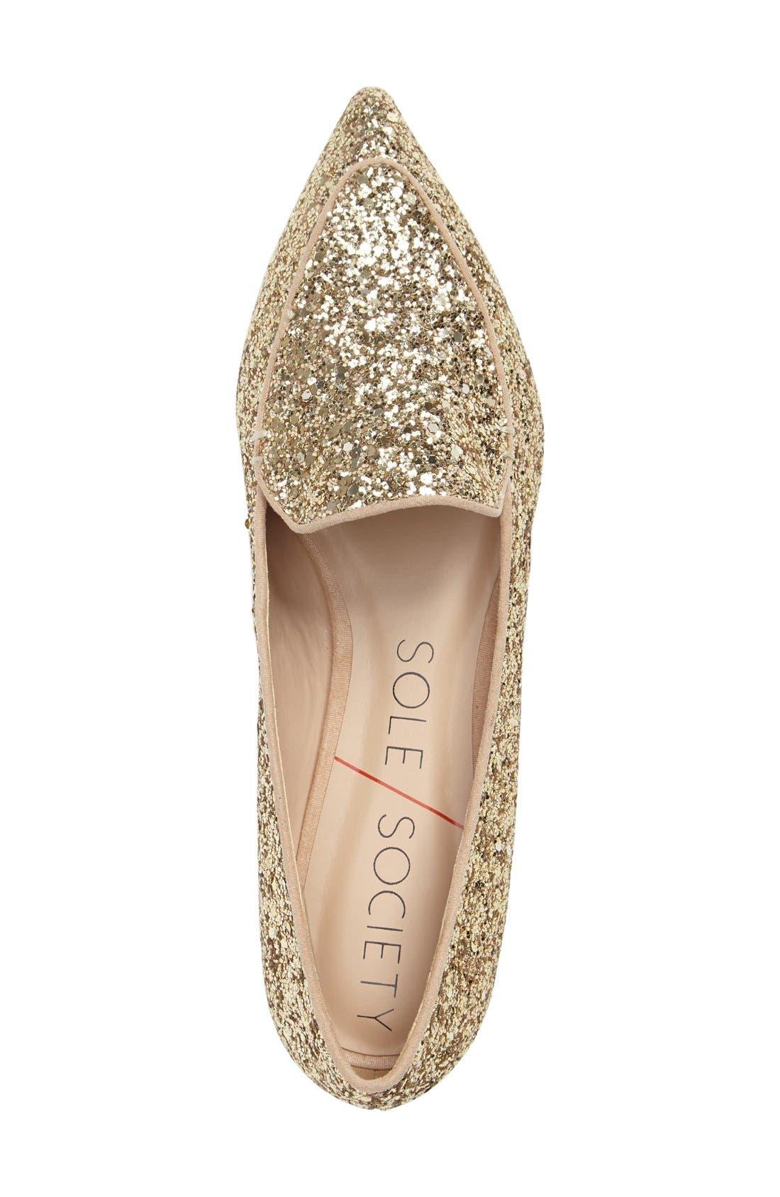 Alternate Image 3  - Sole Society 'Cammila' Pointy Toe Loafer (Women)