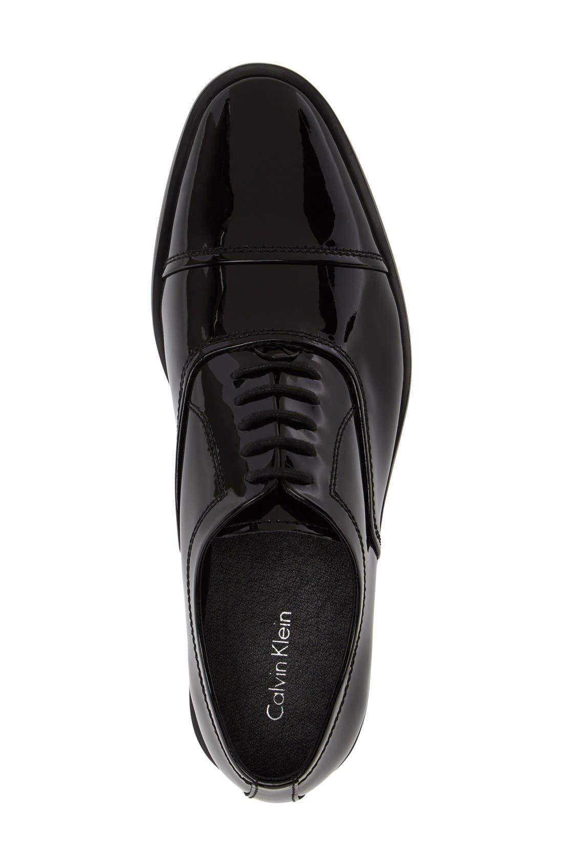 Alternate Image 3  - Calvin Klein 'Nino' Cap Toe Oxford (Men)