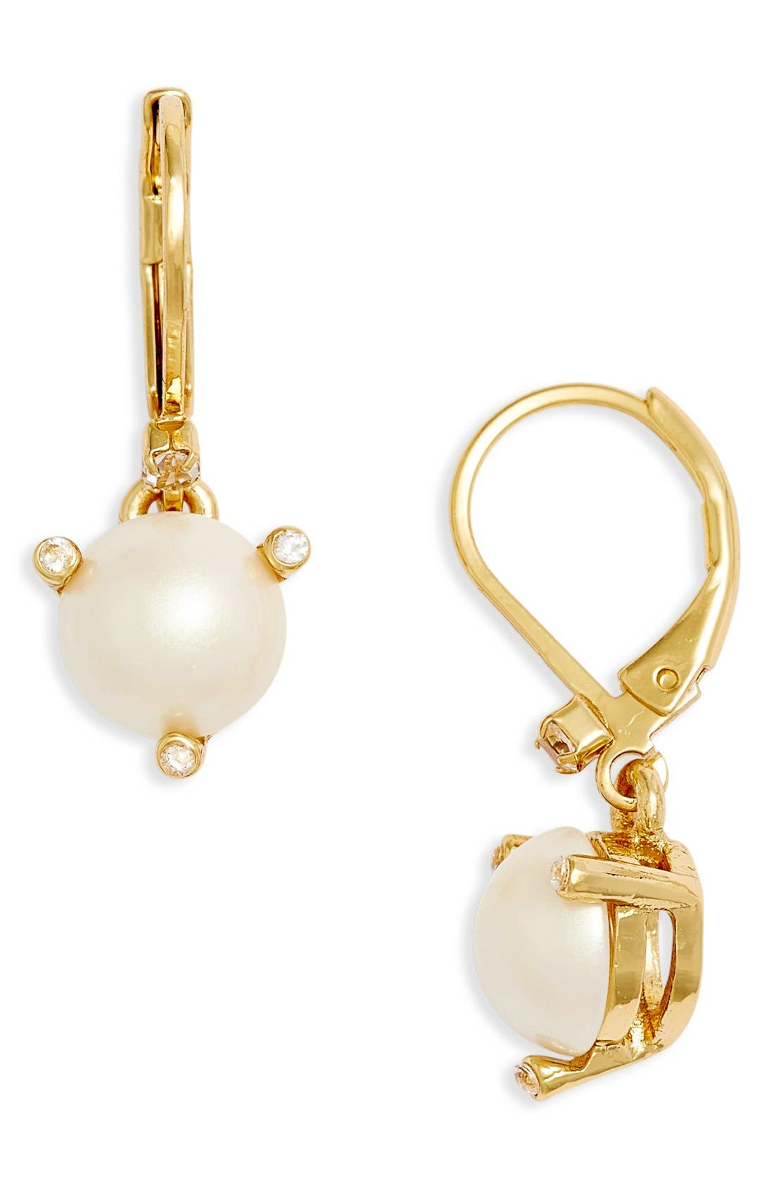 Main Image - kate spade new york 'rise and shine' lever back earrings