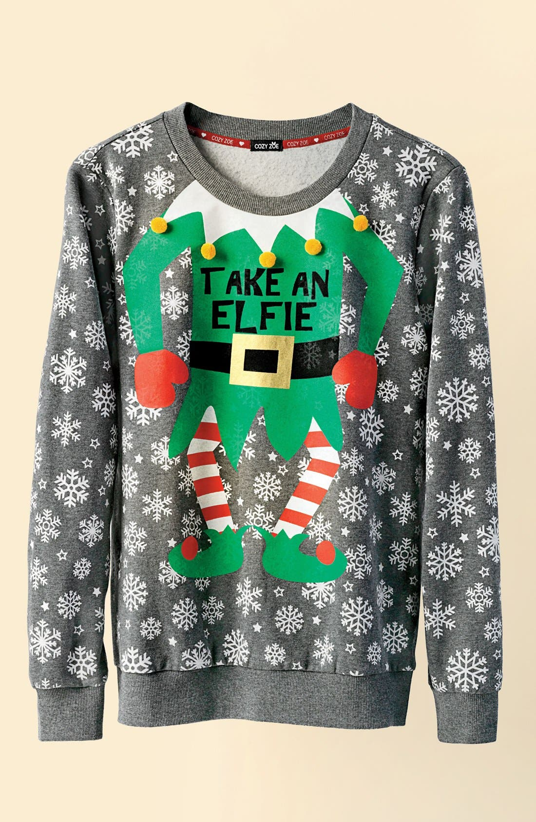Alternate Image 6  - COZY ZOE Holiday Sweatshirt