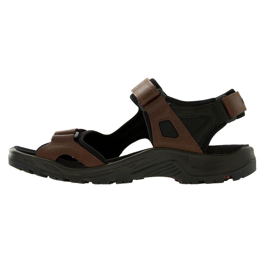 'Yucatan' Sandal,                             Alternate thumbnail 2, color,                             Brown/Black