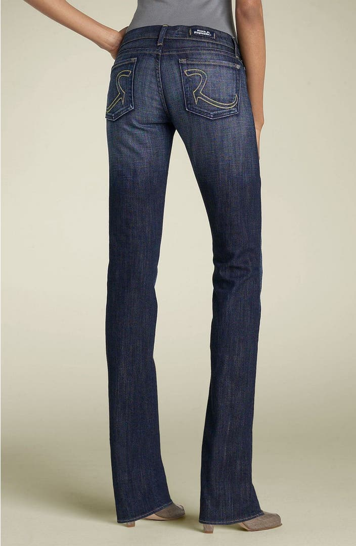 Rock u0026 Republic u0026#39;Cosbieu0026#39; Straight Leg Stretch Jeans (Amethyst) | Nordstrom