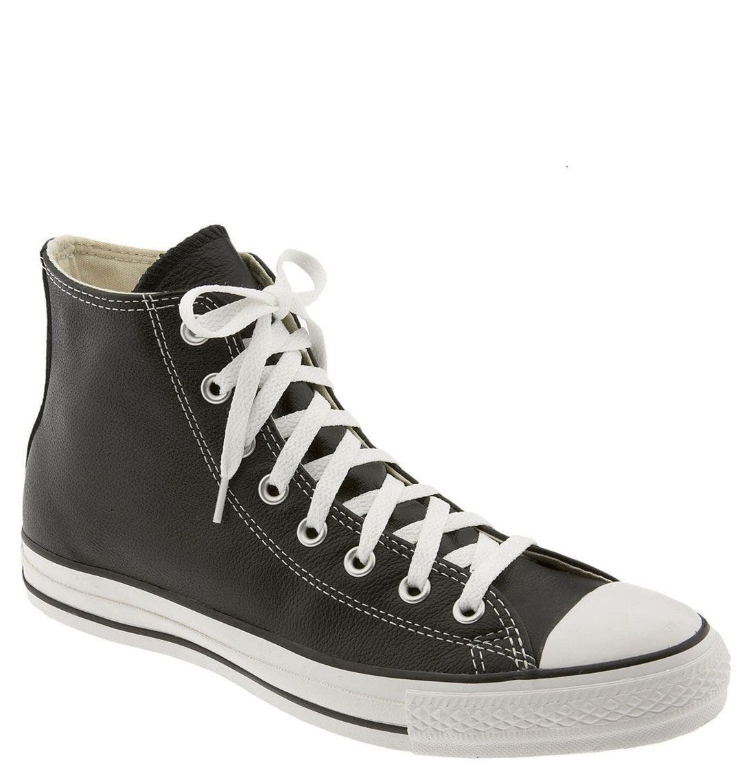 Main Image - Converse Chuck Taylor® All Star® Leather High Top Sneaker (Men)