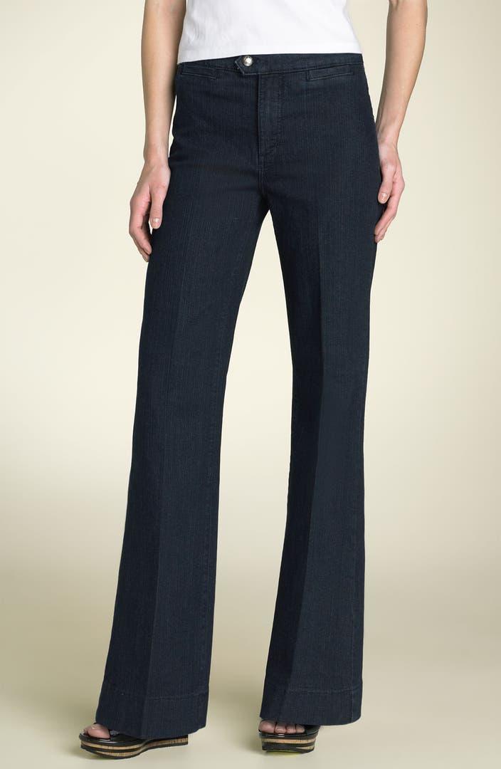 NYDJ Wide Leg Trouser Jeans (Petite) | Nordstrom