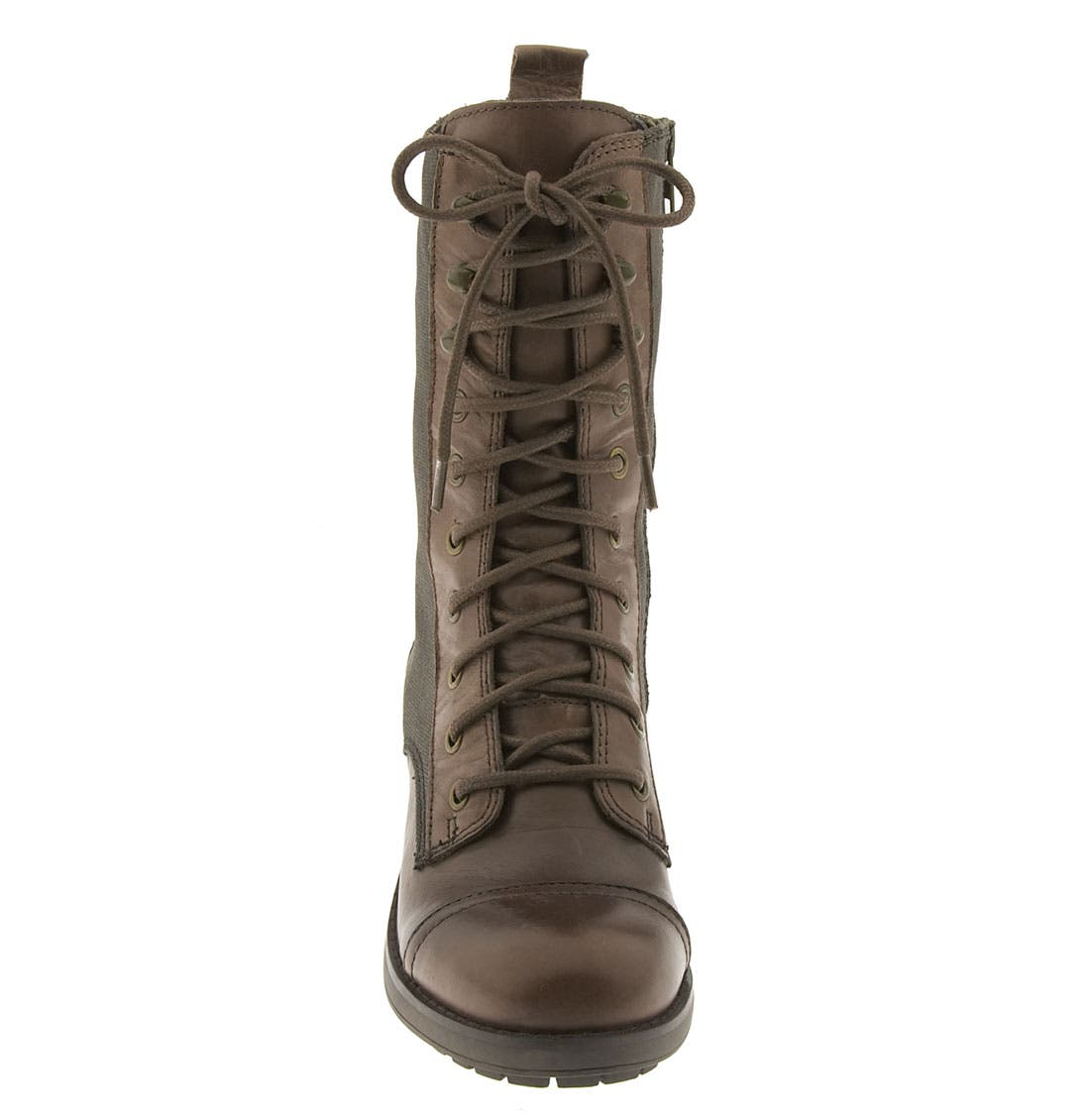 'Corley' Boot,                             Alternate thumbnail 3, color,                             Dark Brown Leather