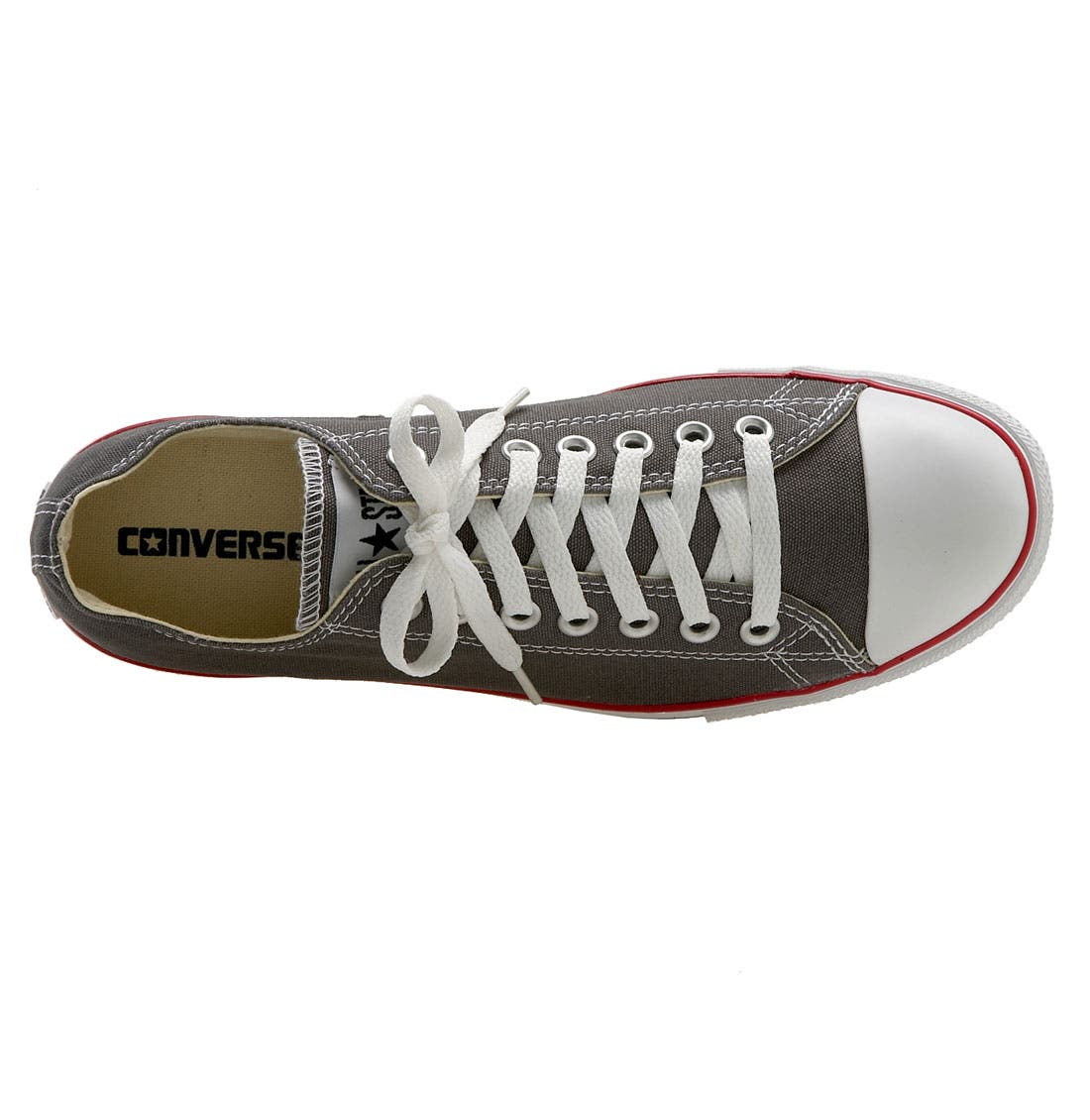 Alternate Image 3  - Converse Chuck Taylor® 'Slim' Low Top Leather Sneaker (Men)