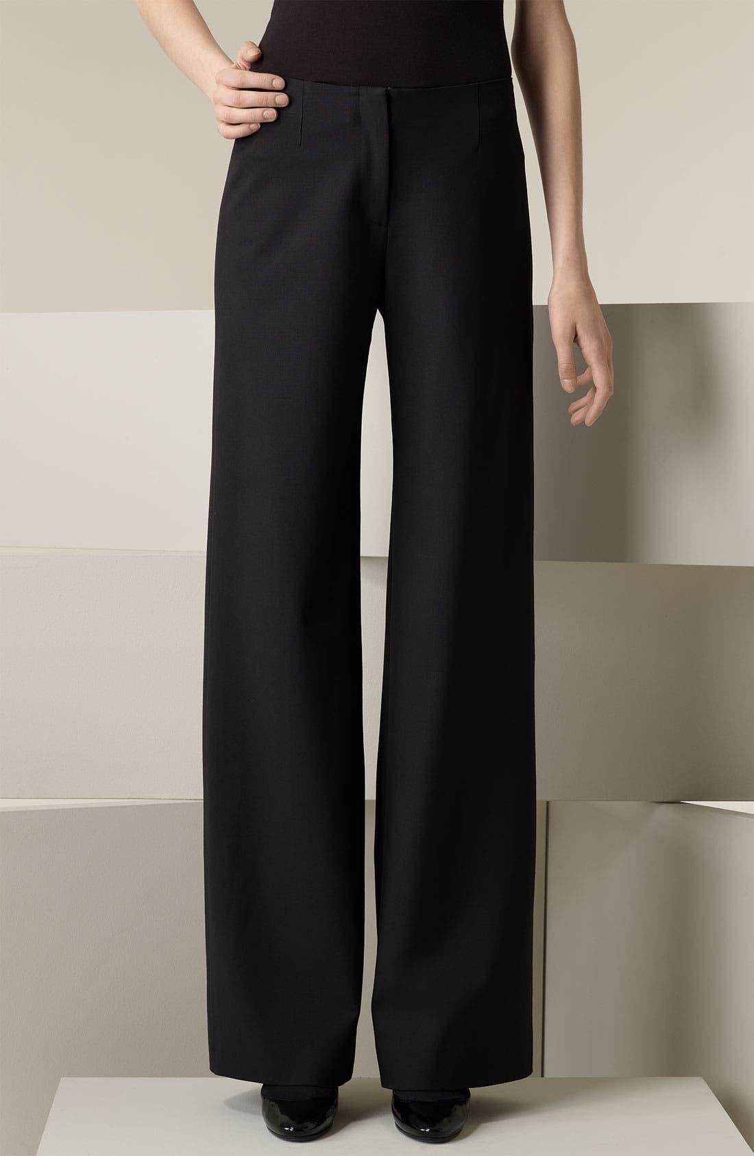 Alternate Image 1 Selected - Piazza Sempione 'Marilyn' Wide Leg Pants