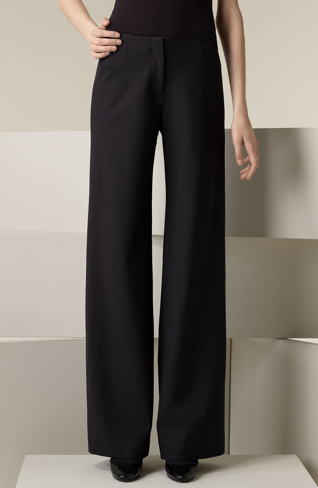 Main Image - Piazza Sempione 'Marilyn' Wide Leg Pants