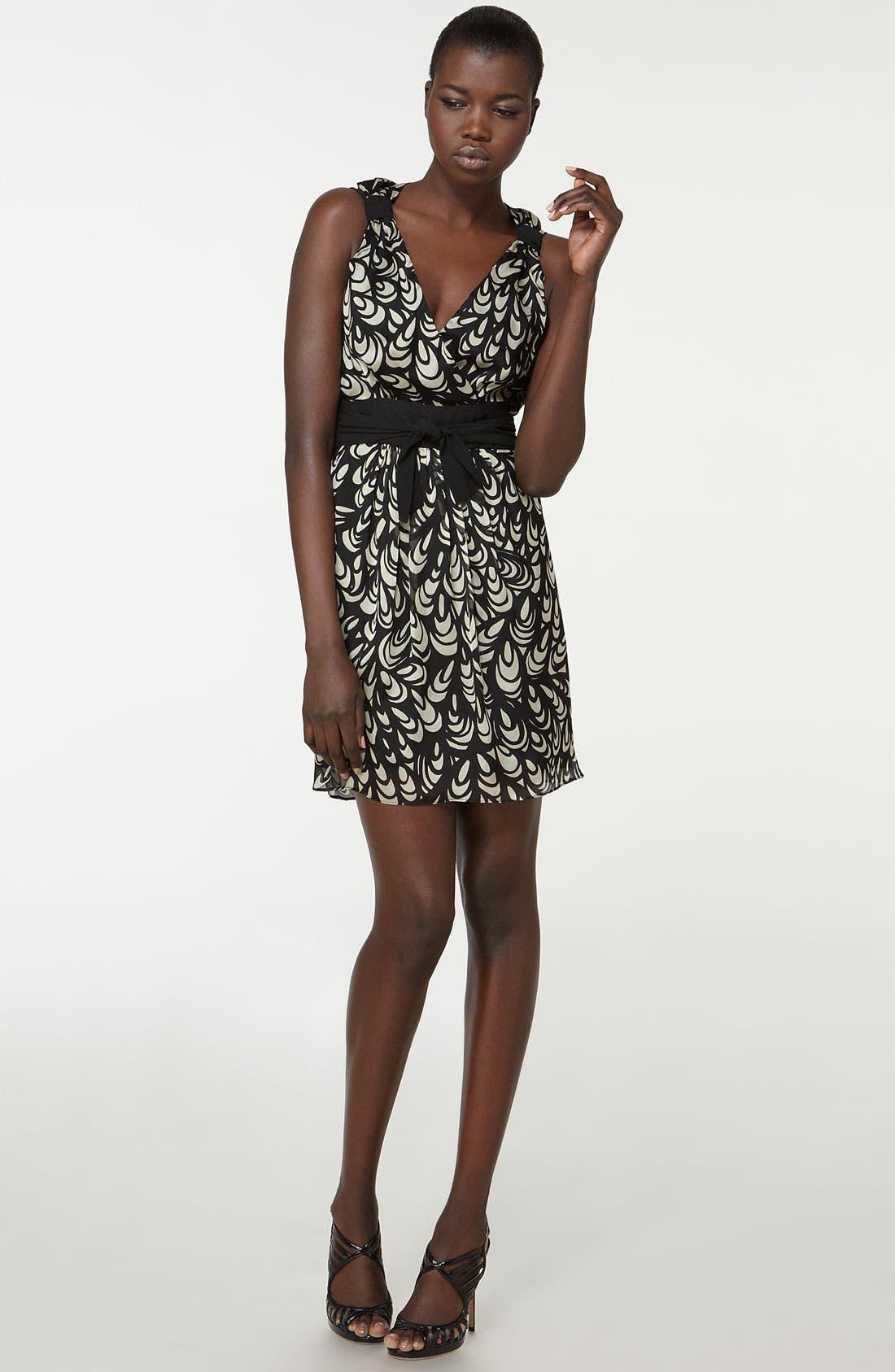 Main Image - Milly 'Coquille' Print Chiffon Dress