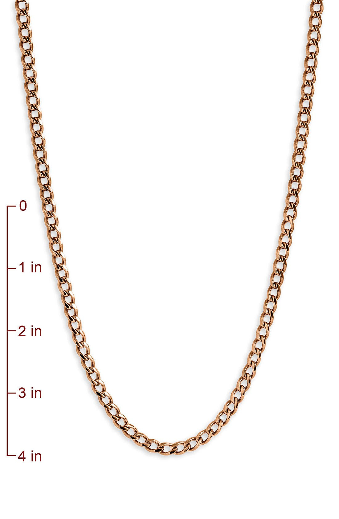 Alternate Image 2  - Nordstrom Long Strand Chain Necklace