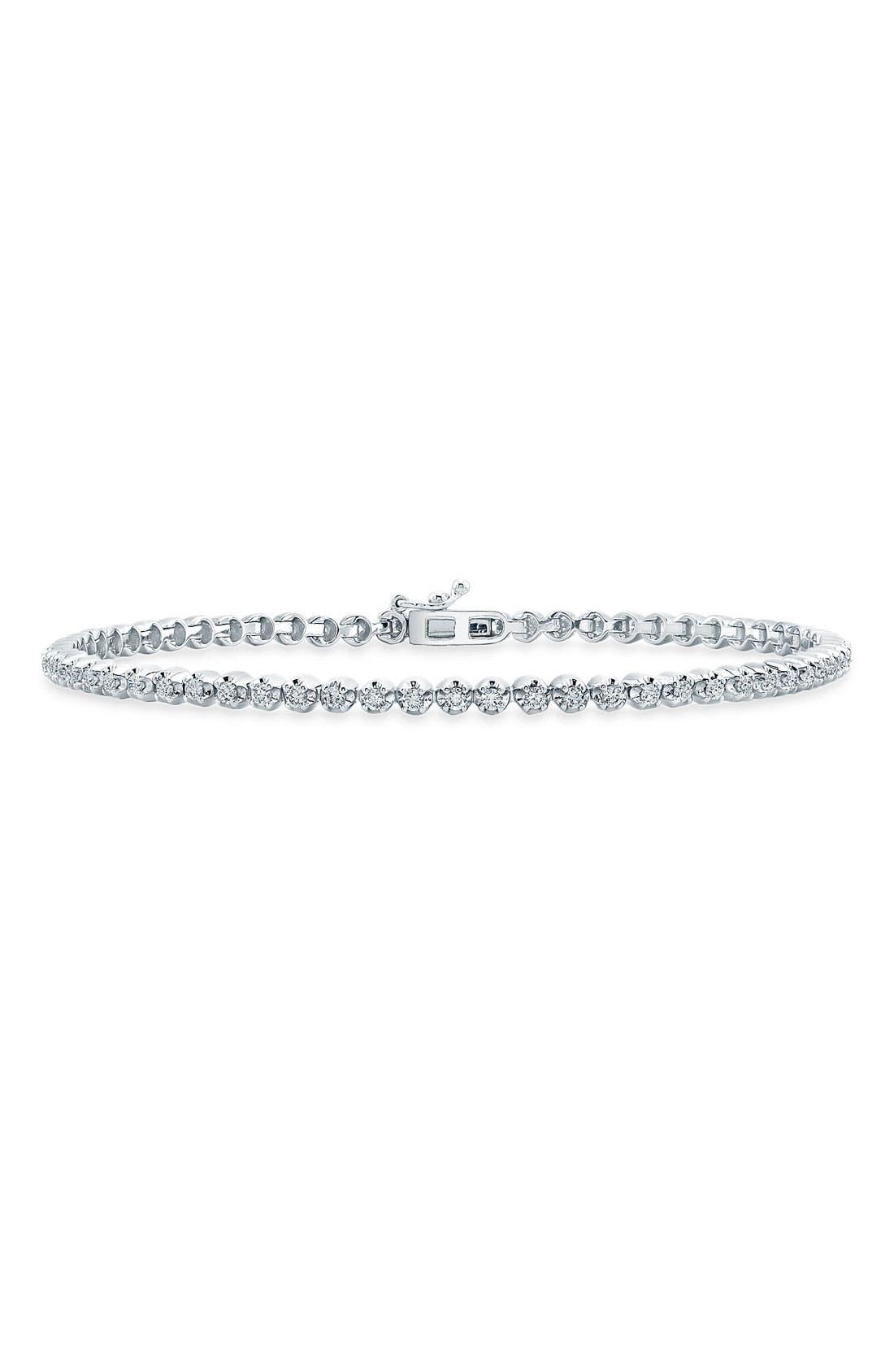 Alternate Image 1 Selected - Bony Levy Diamond Line Bracelet (Nordstrom Exclusive) (Limited Edition)