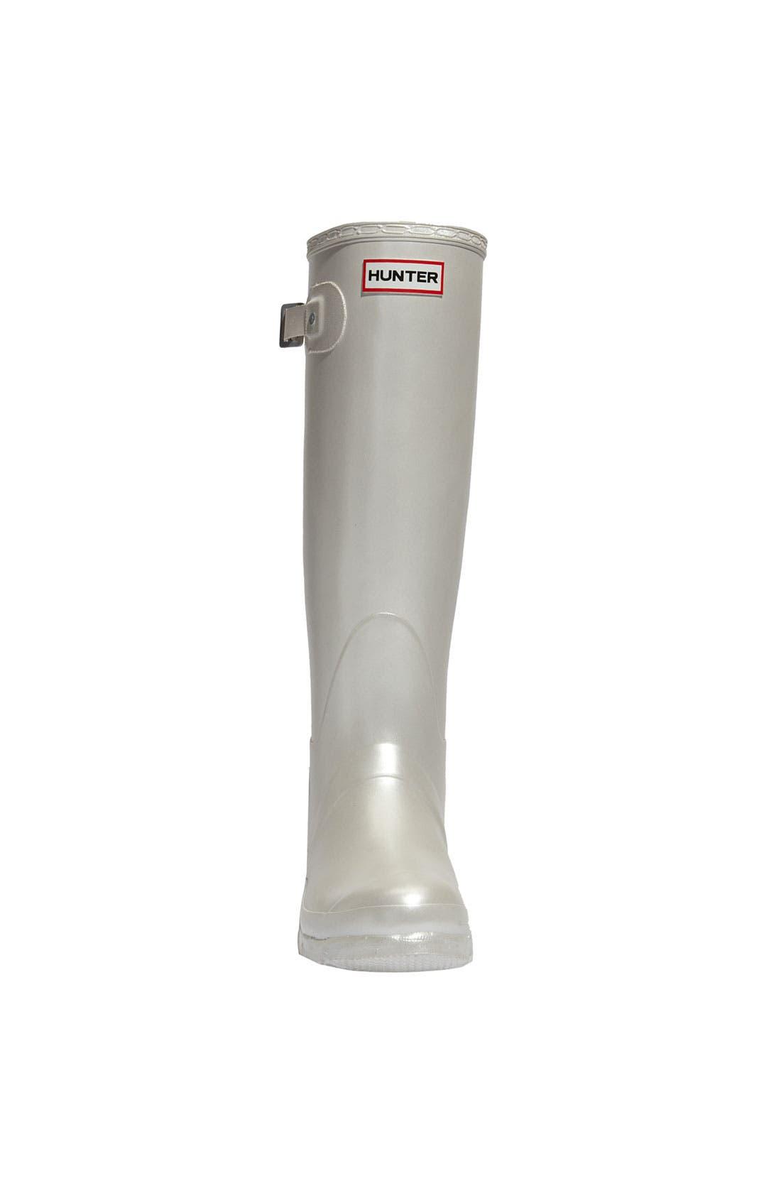 Alternate Image 3  - Hunter 'Original Tall' Metallic Rain Boot (Women)