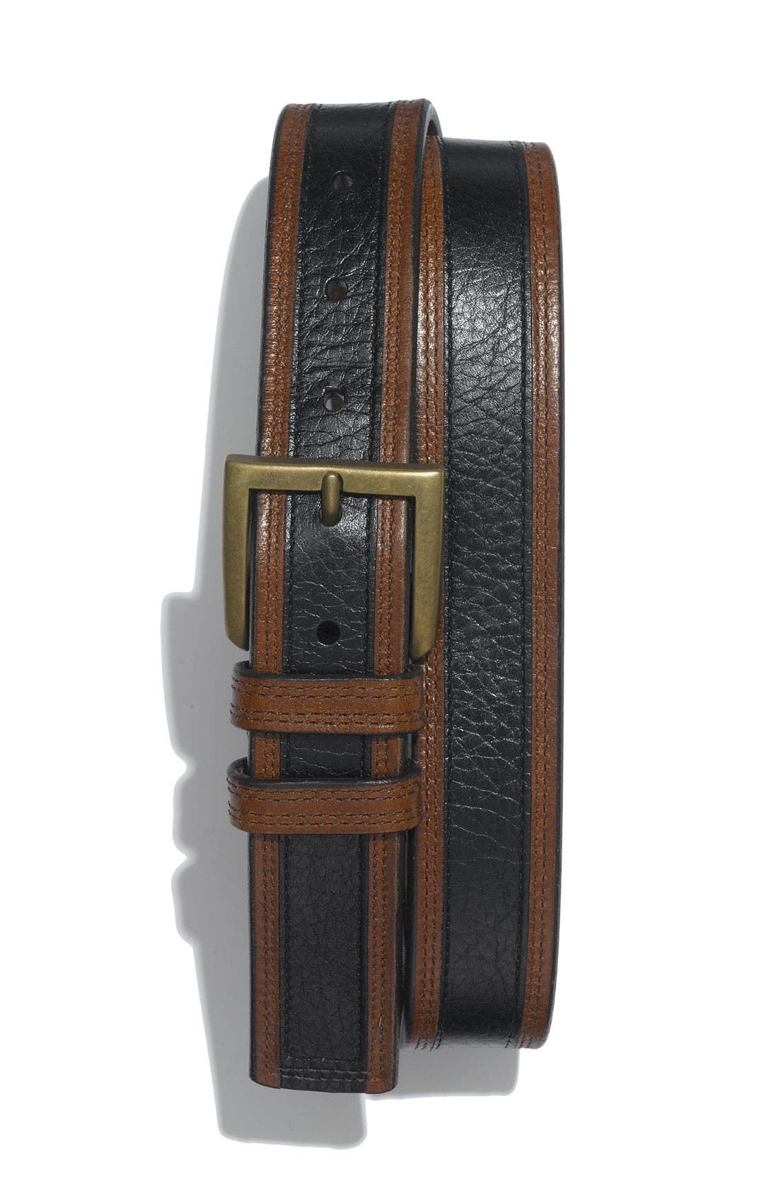 Alternate Image 1 Selected - Allen Edmonds 'Nashua' Leather Belt