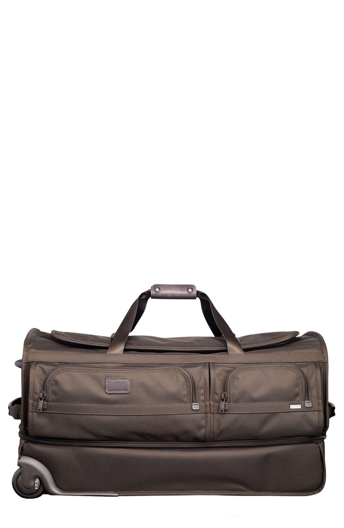 Main Image - Tumi 'Alpha - Large' Wheeled Split Duffel Bag