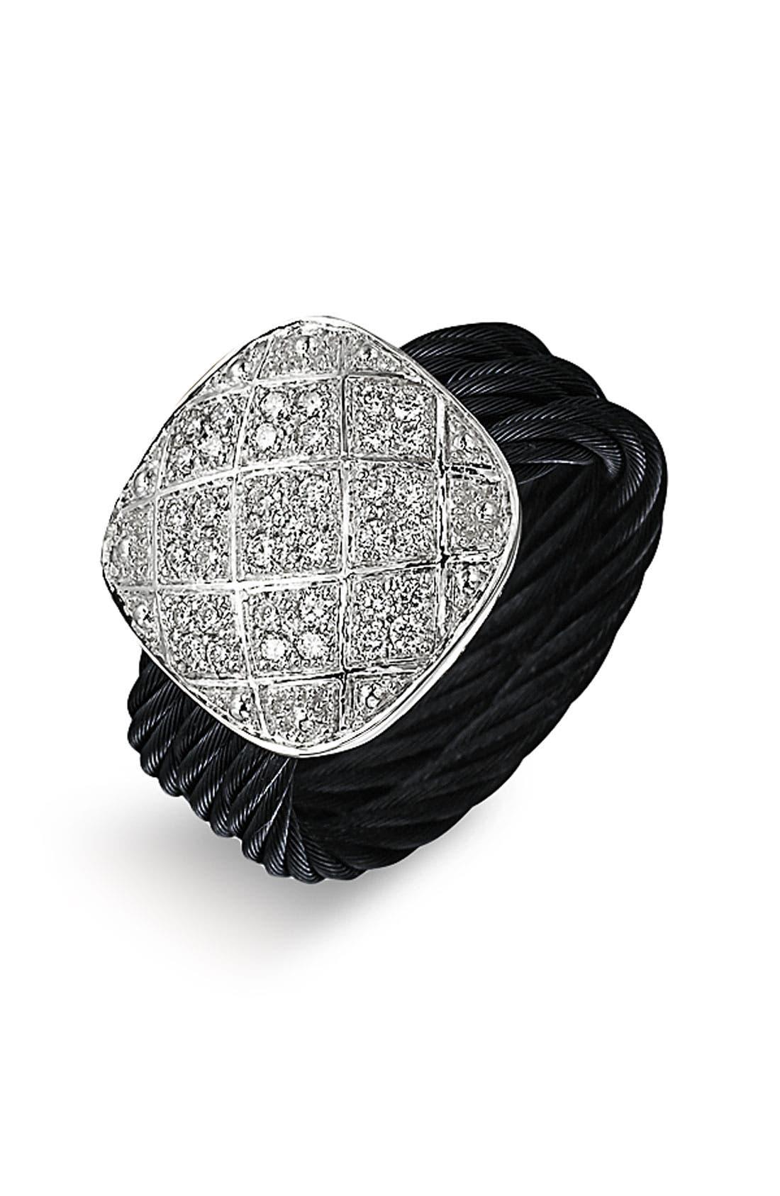 Alternate Image 1 Selected - ALOR® Pavé Diamond Ring