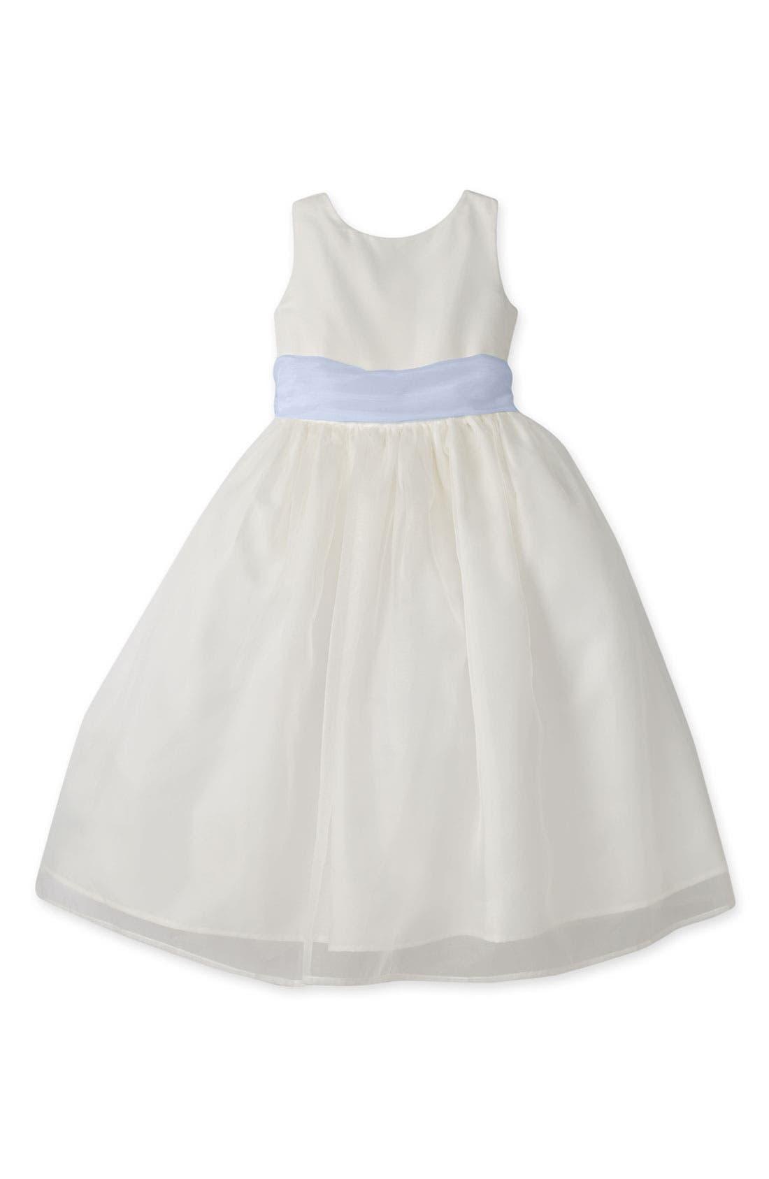 Us Angels Sleeveless Organza Dress (Toddler Girls, Little Girls & Big Girls)