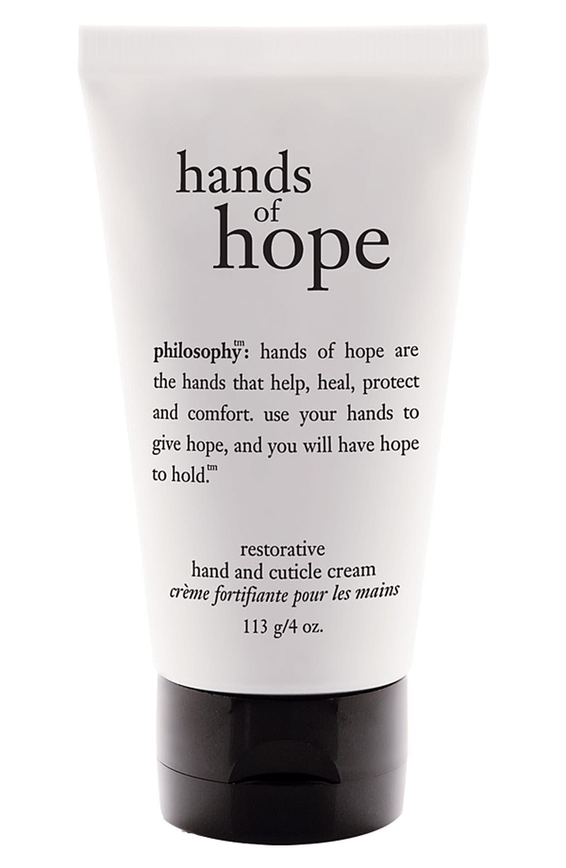 philosophy 'hands of hope' hand & cuticle cream