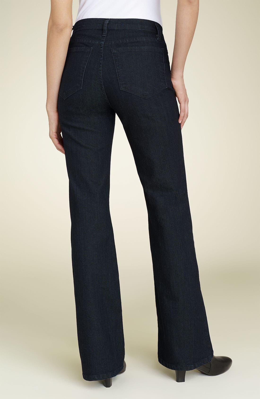 Alternate Image 2  - NYDJ 'Basic' Bootcut Stretch Jeans (Long)