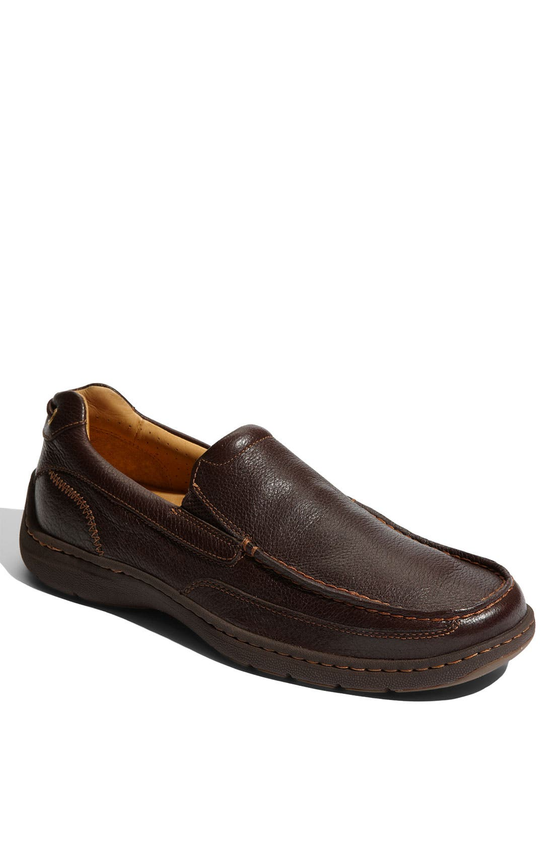 Alternate Image 1 Selected - Sperry Top-Sider® 'Gold Lux' Leather Loafer