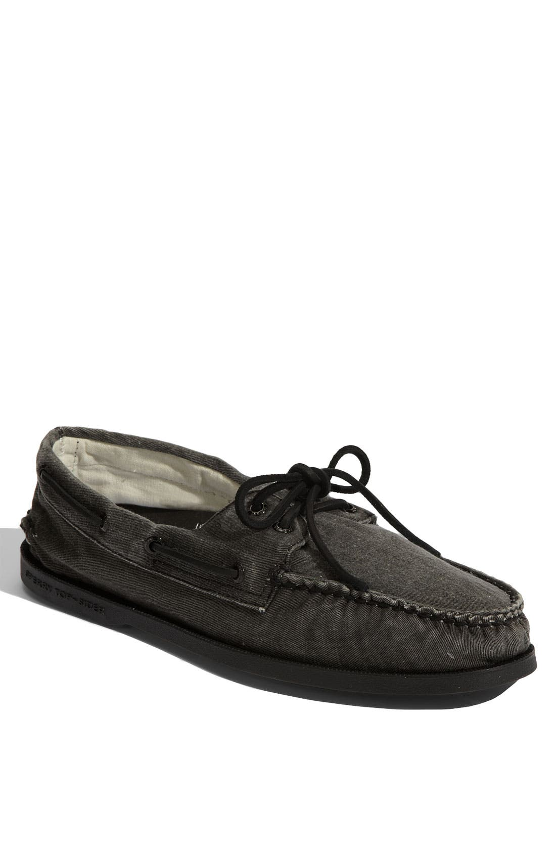 Alternate Image 1 Selected - Sperry Top-Sider® 'Authentic Original' Canvas Boat Shoe (Men)
