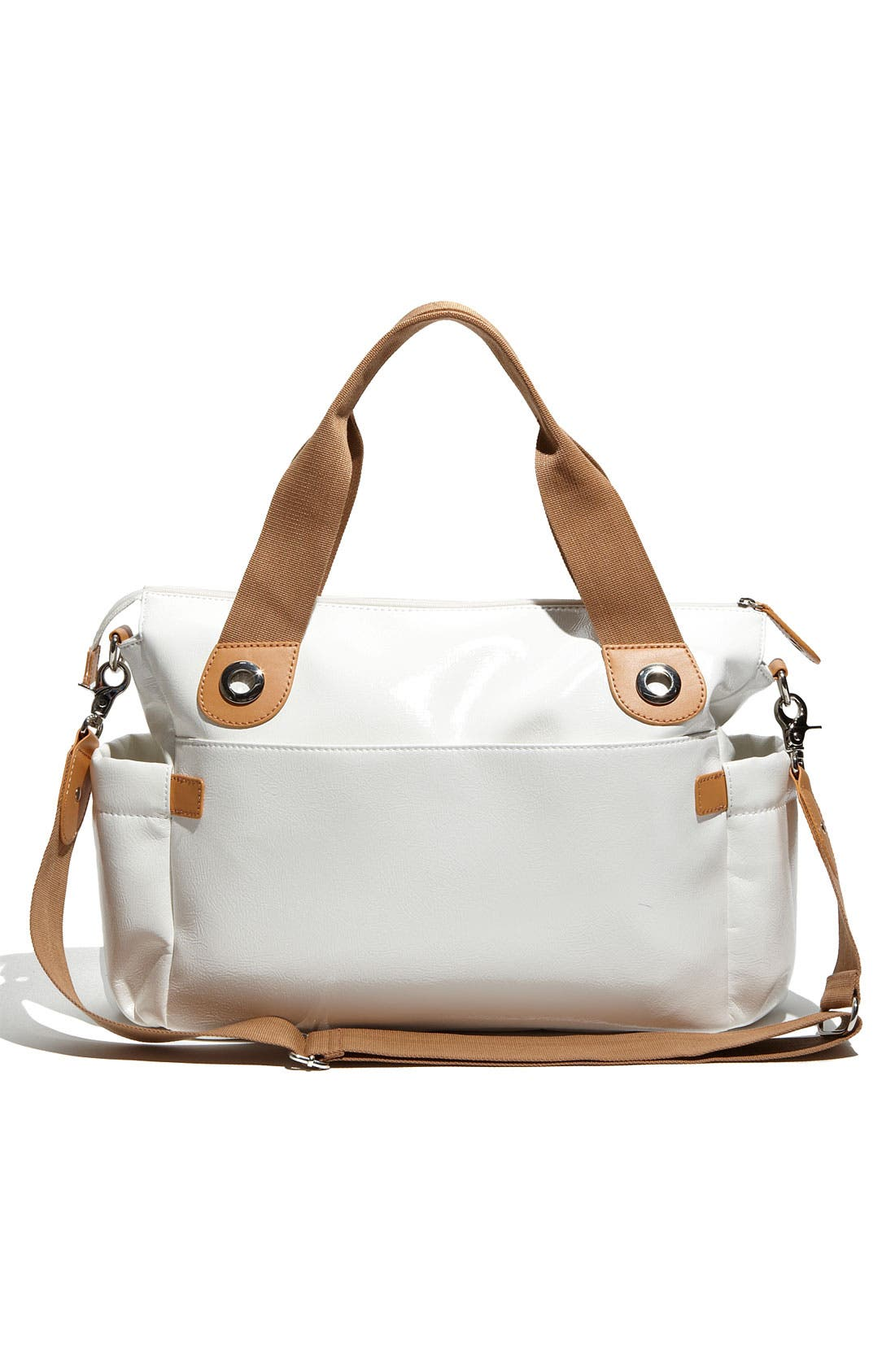 Alternate Image 2  - Storksak 'Kate' Patent Diaper Bag