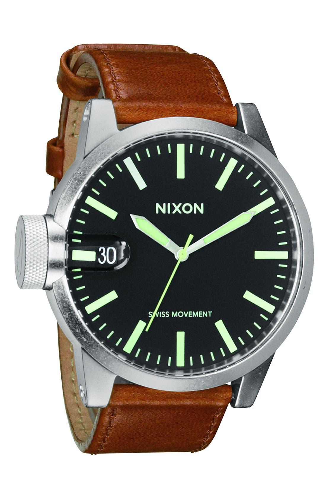 Main Image - Nixon 'The Chronicle' Watch, 48mm