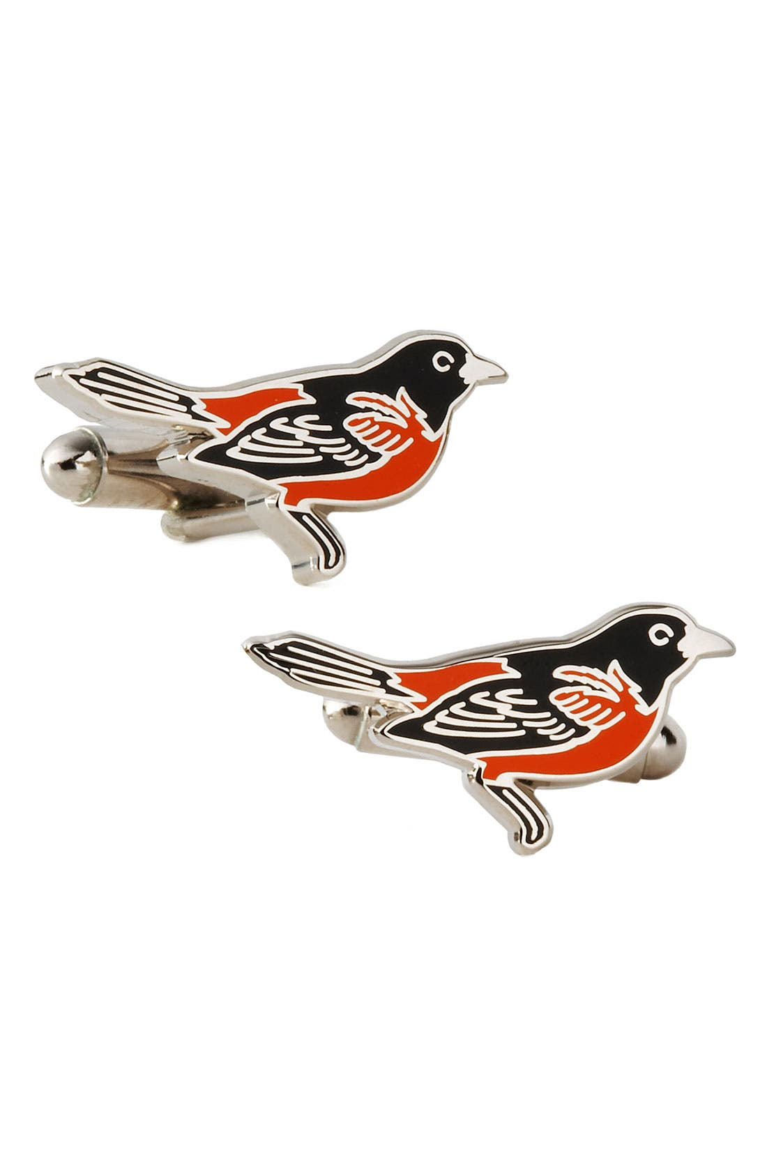 Main Image - Cufflinks, Inc. 'Baltimore Orioles' Cuff Links
