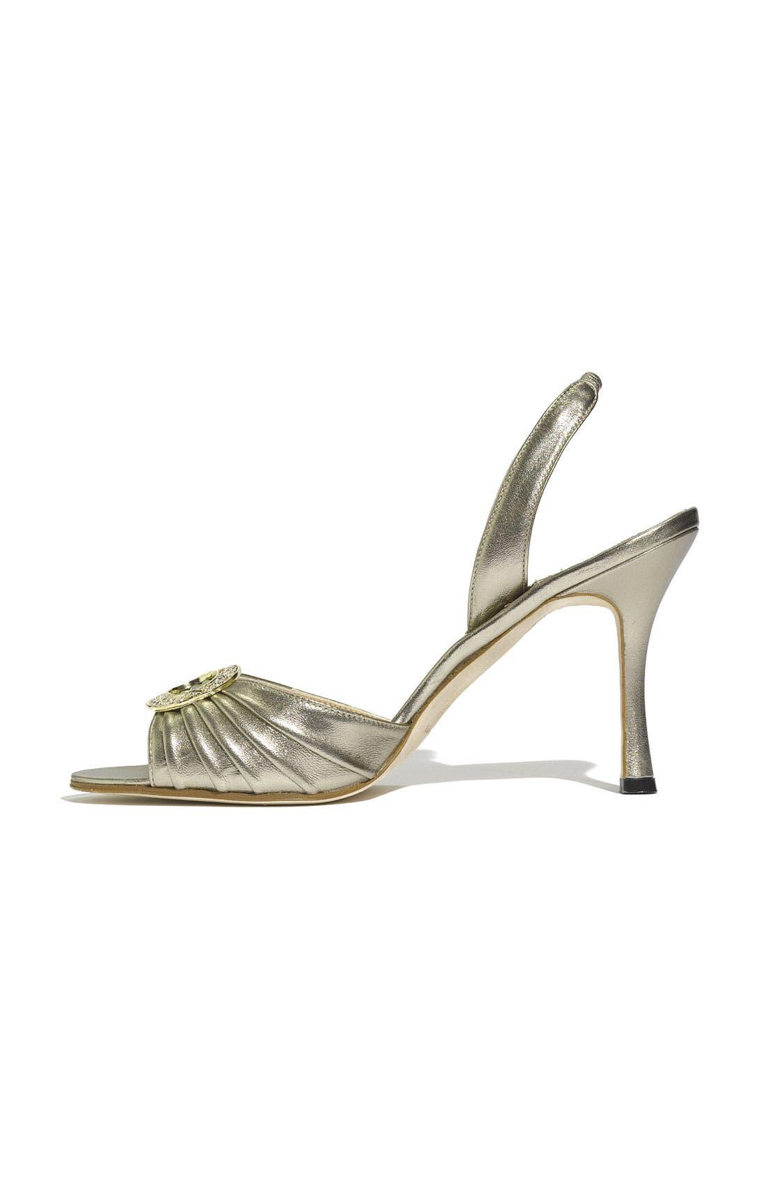 Alternate Image 2  - Manolo Blahnik 'Sedaraby' Embellished Slingback Sandal