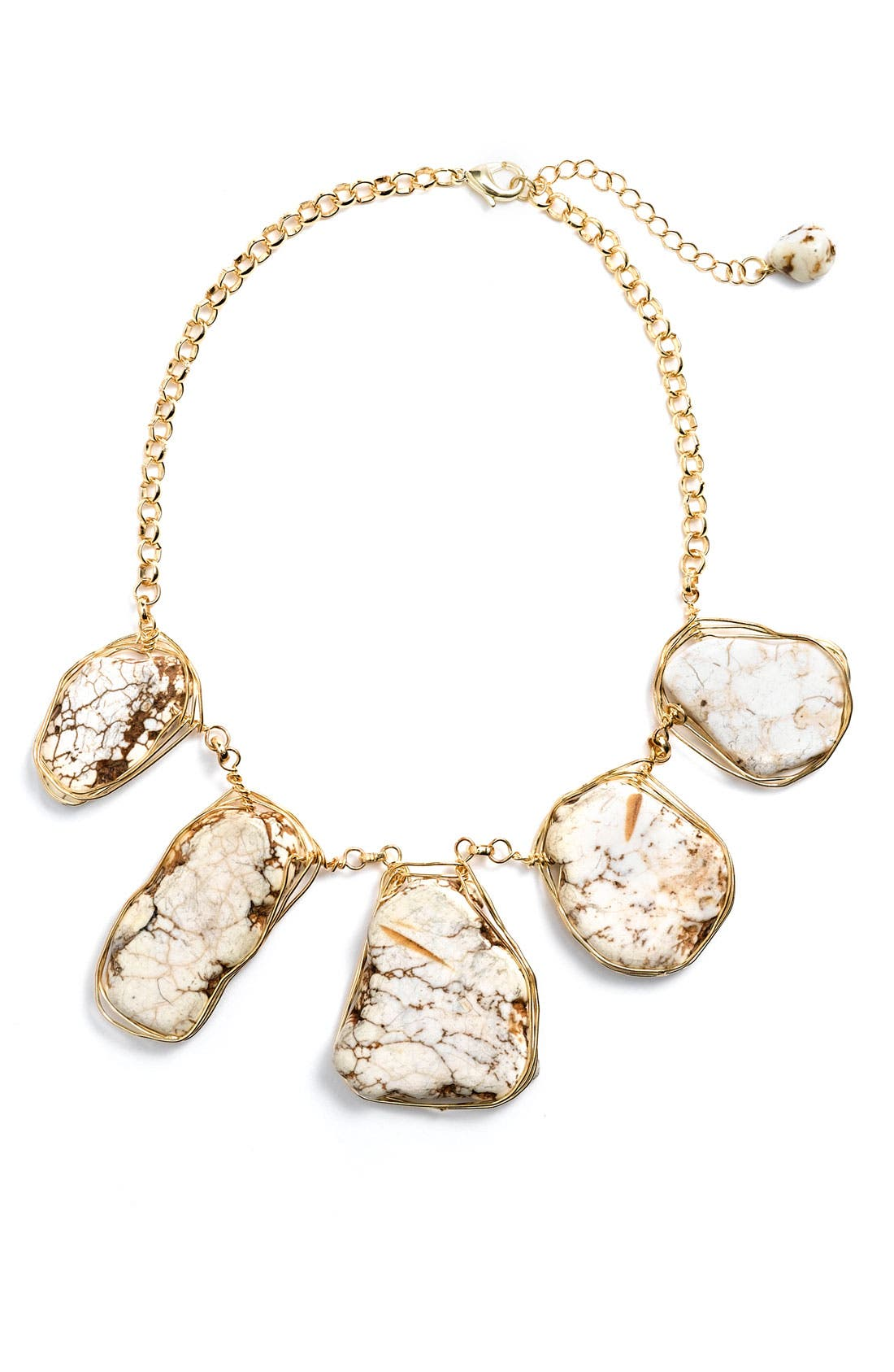 Alternate Image 1 Selected - Statements by DCK Stone Bib Necklace