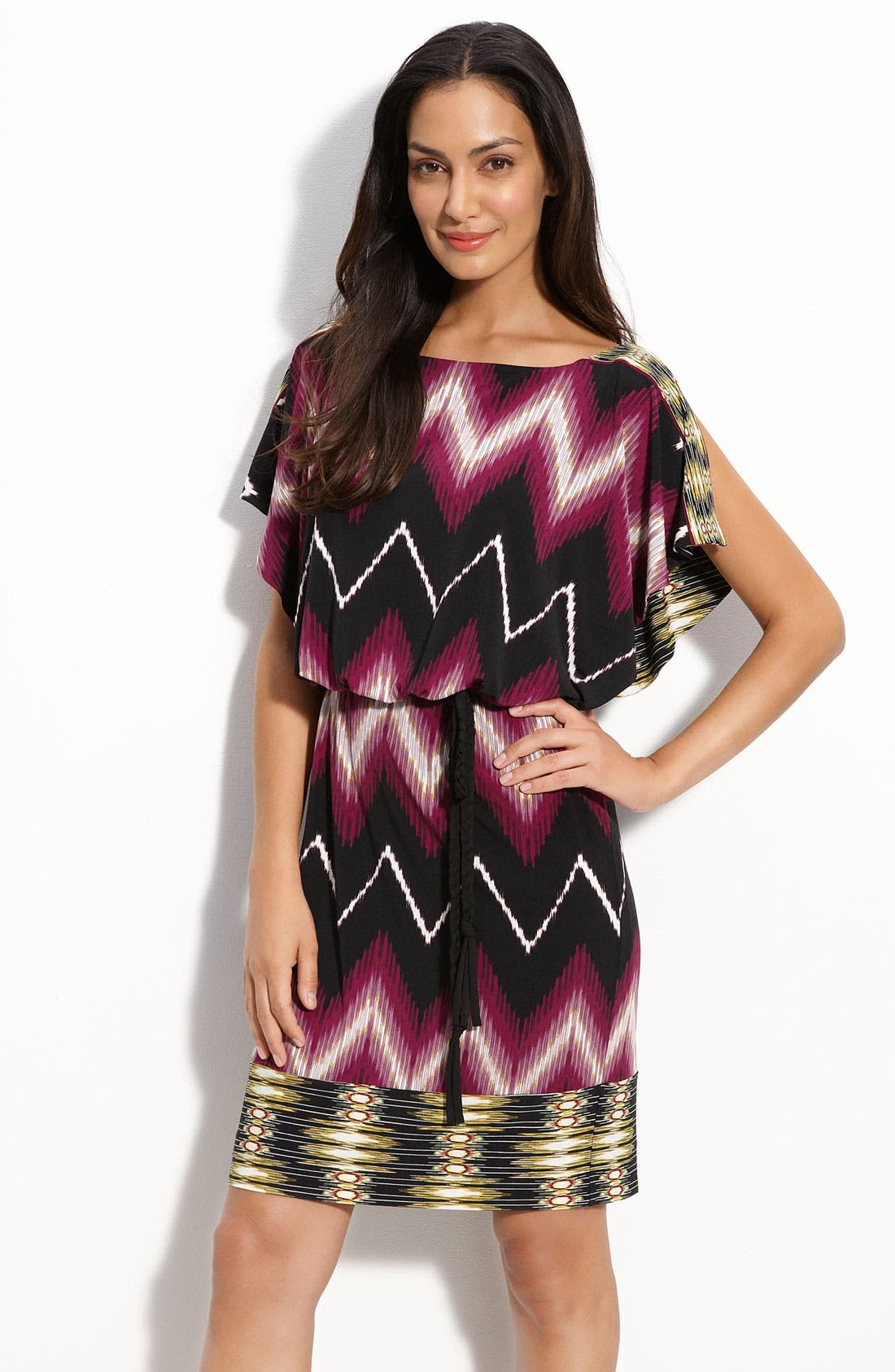 Main Image - Maggy London Jersey Blouson Dress