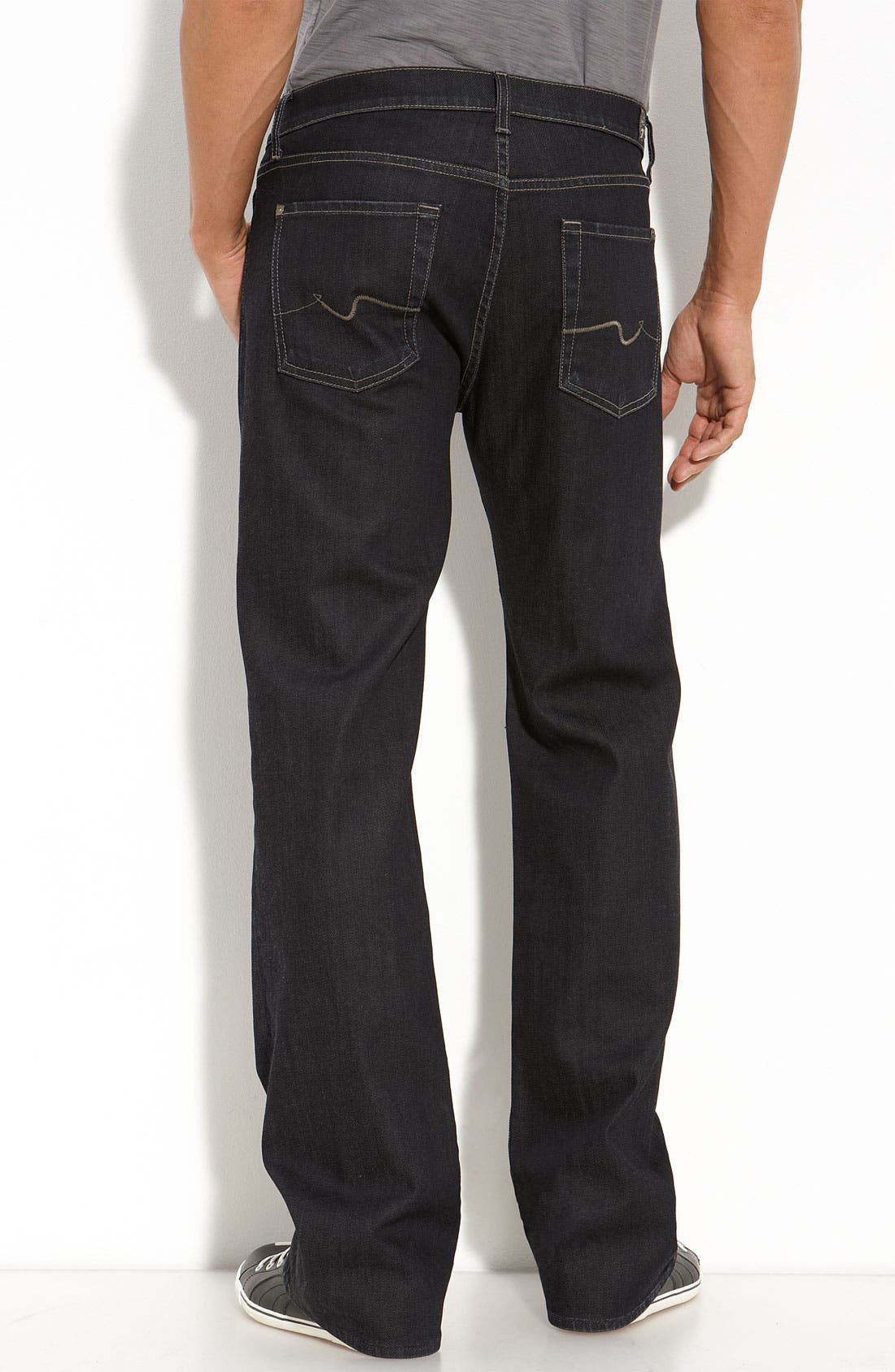 Alternate Image 1 Selected - 7 For All Mankind® 'Austyn' Straight Leg Jeans (Chester Row)