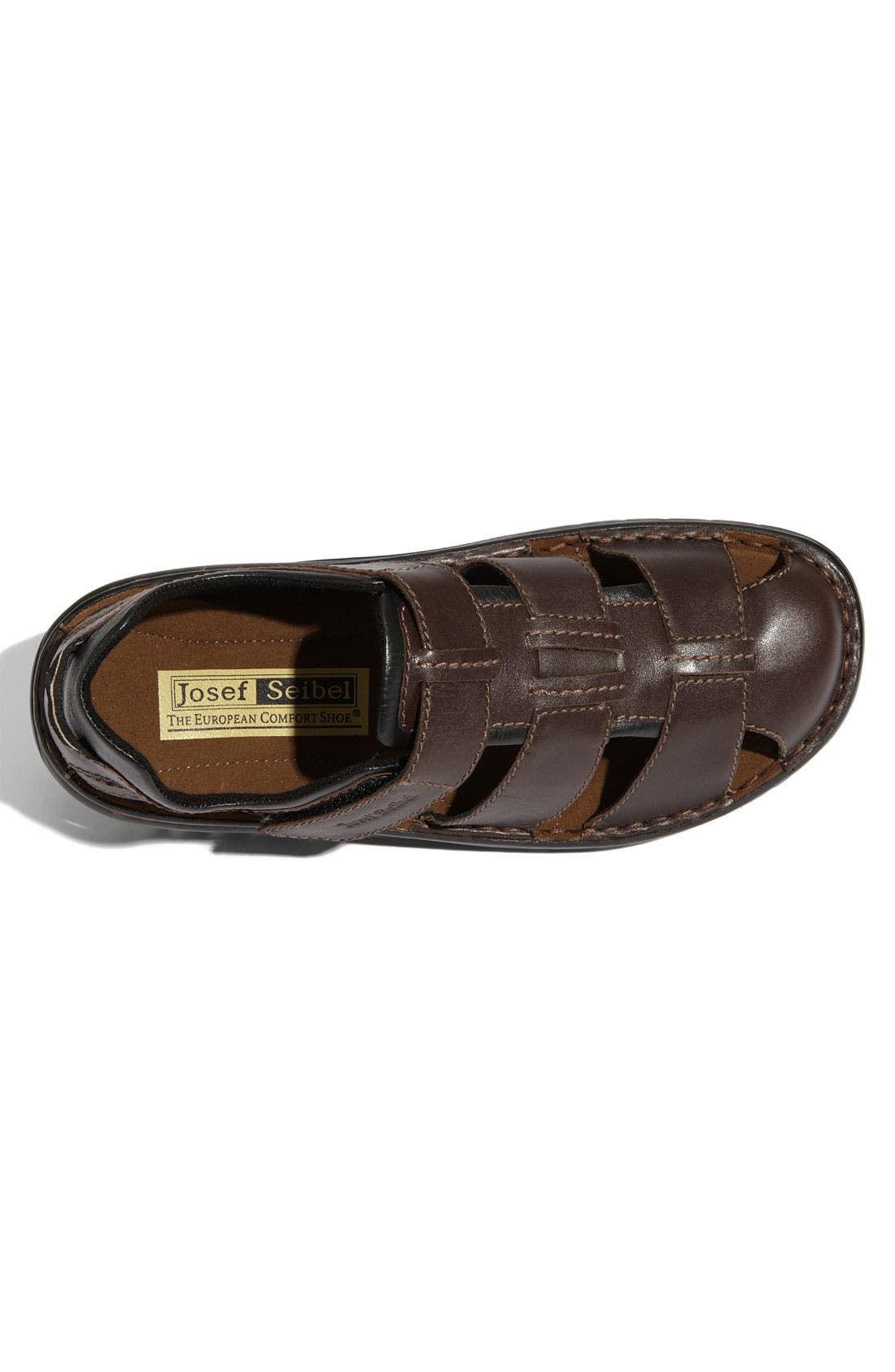 Alternate Image 3  - Josef Seibel 'Jeremy' Sandal (Men)