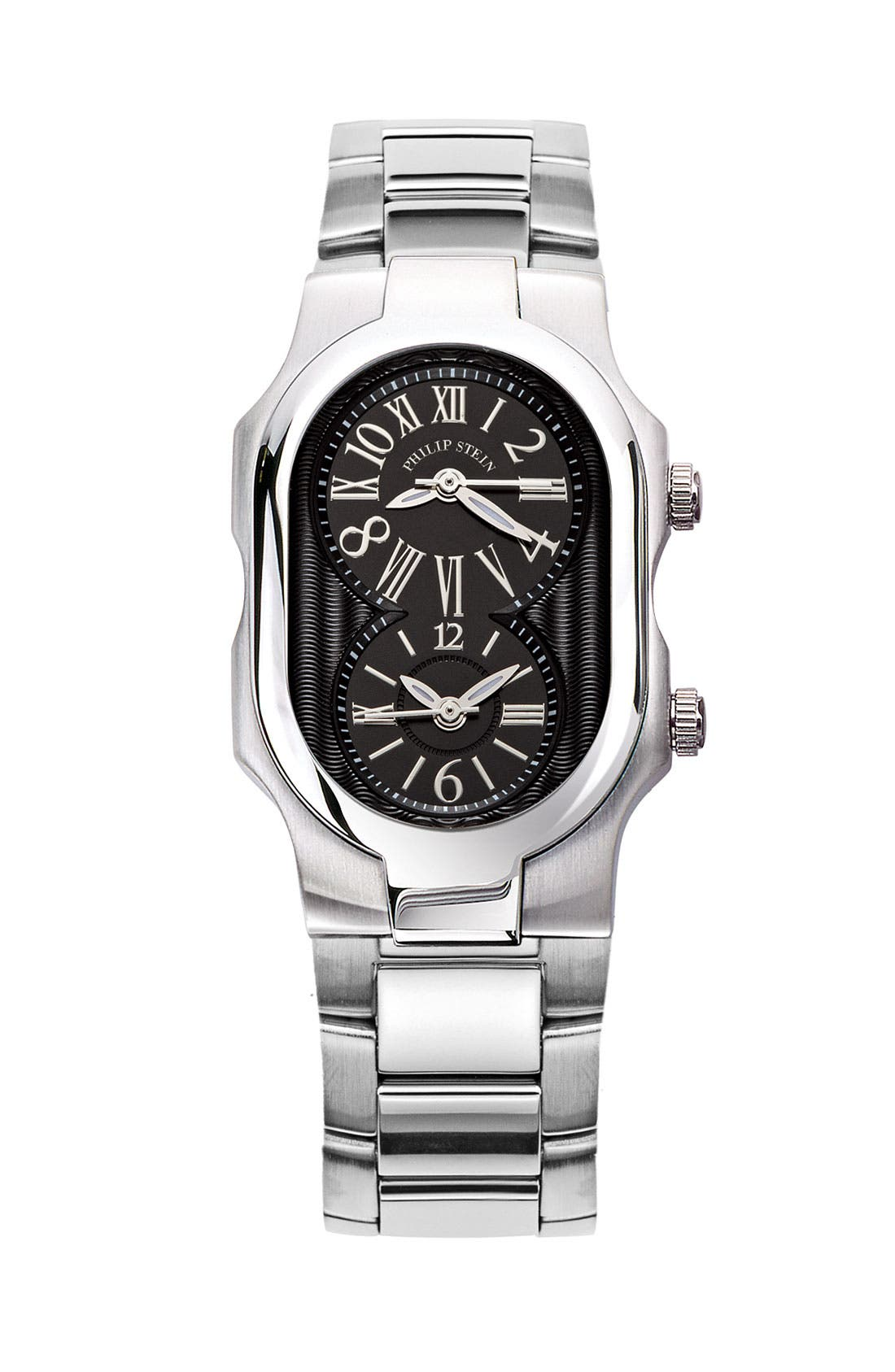 Alternate Image 2  - Philip Stein® 'Signature' Small Black Dial Watch Case