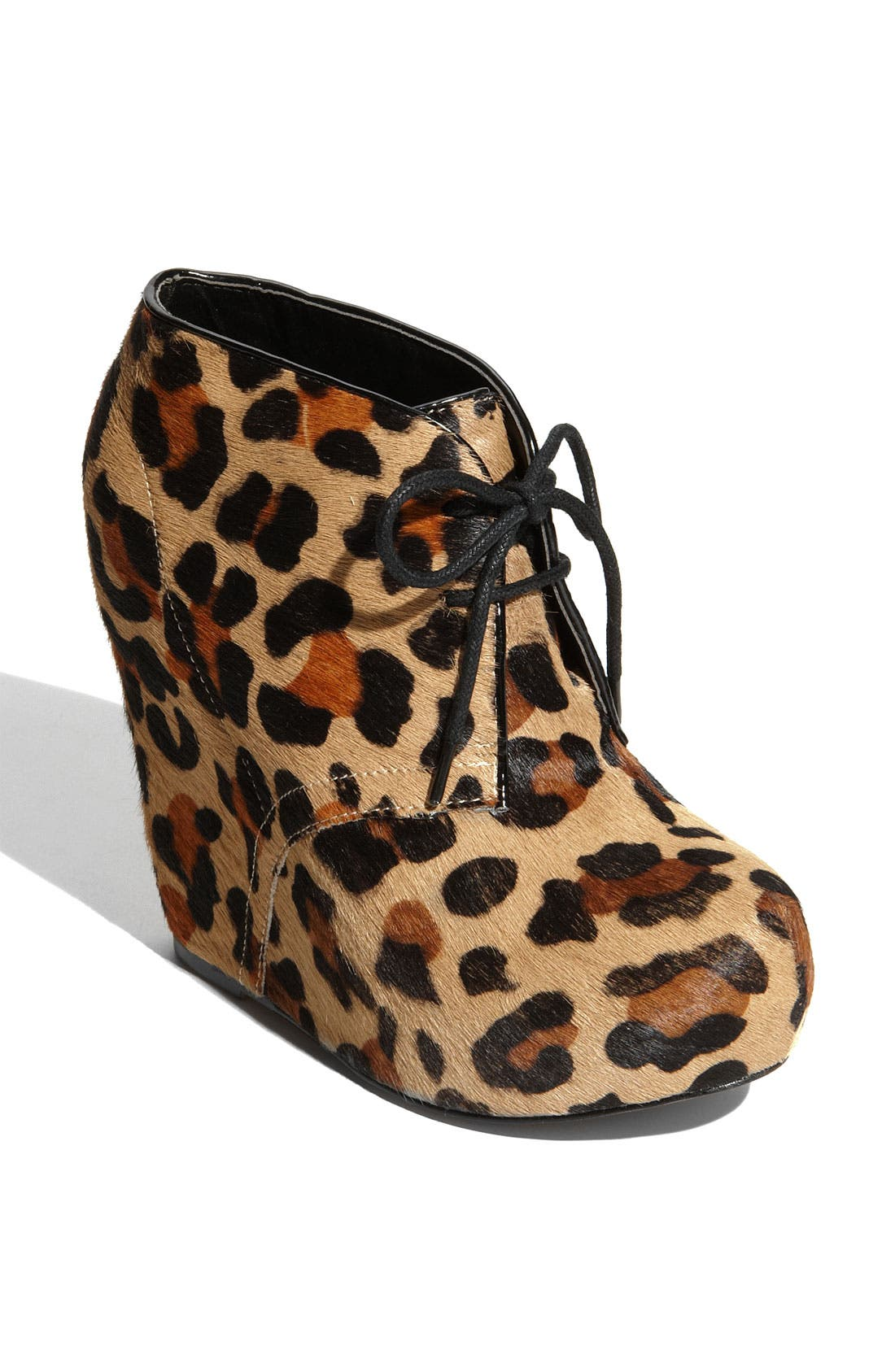 Alternate Image 1 Selected - Steve Madden 'Annie-L' Wedge Bootie