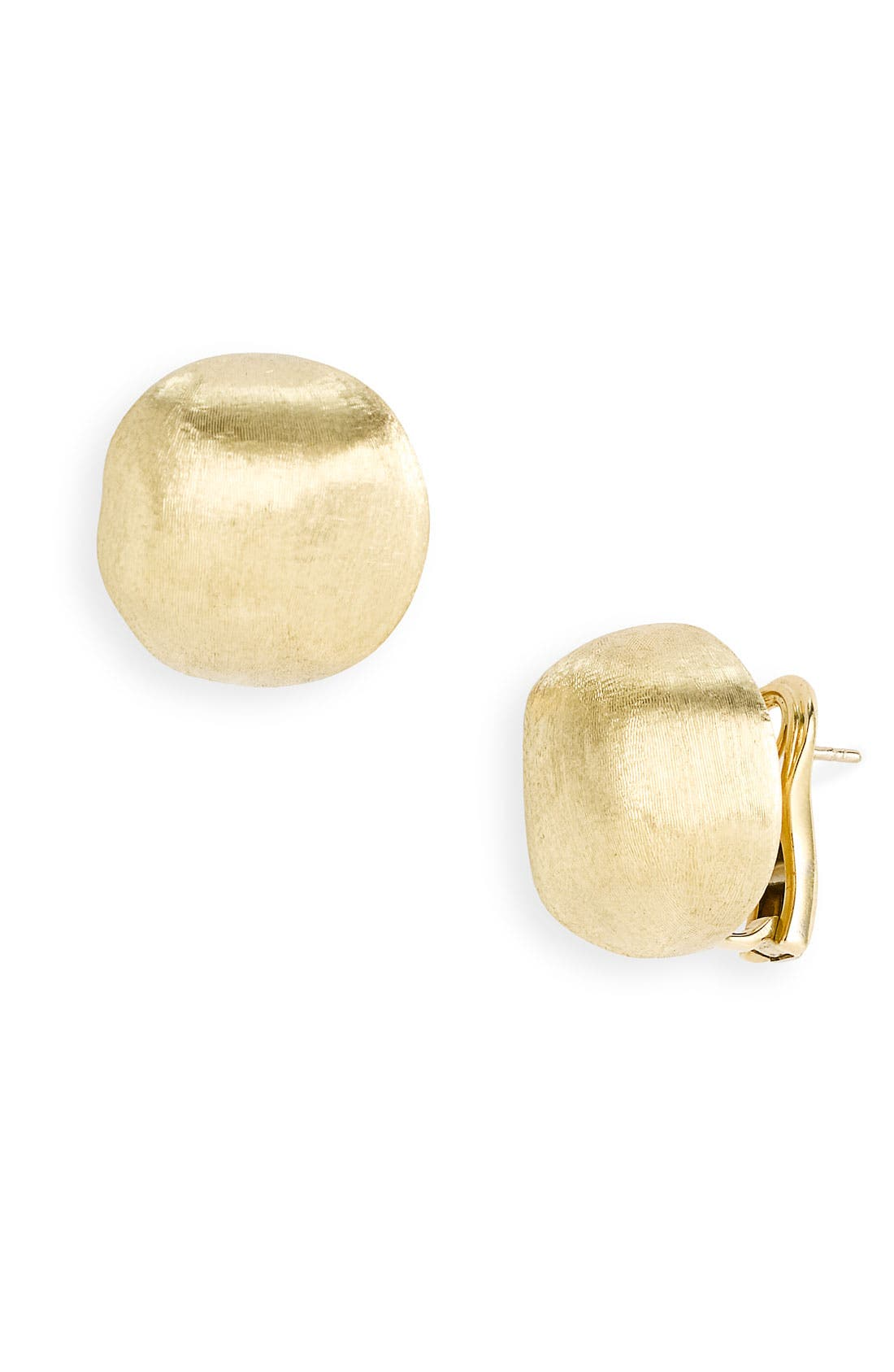 Main Image - Marco Bicego 'Africa Gold' Button Stud Earrings