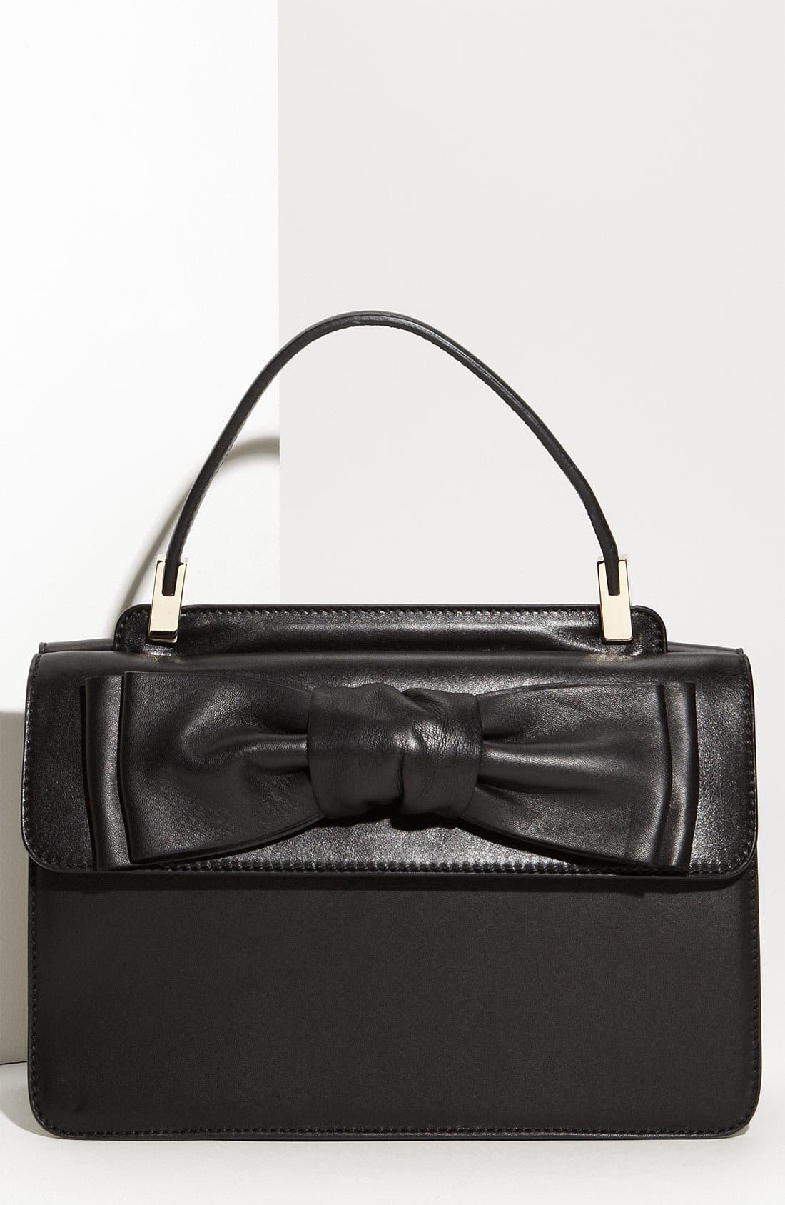 Main Image - Valentino 'Aphrodite - Small' Leather Shopper
