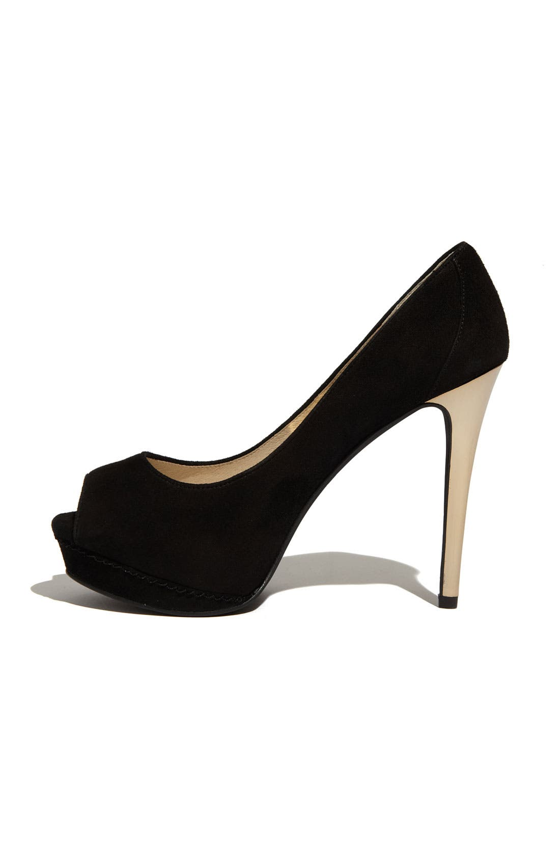 Alternate Image 2  - MICHAEL Michael Kors 'Josie Peep' Pump