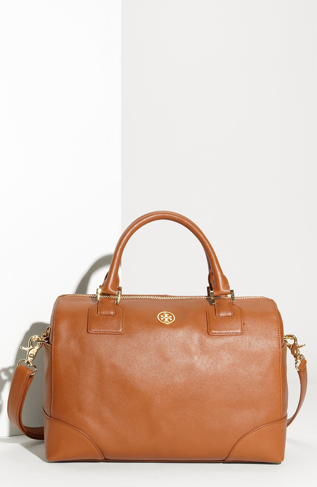 Alternate Image 1 Selected - Tory Burch 'Robinson' Saffiano Satchel