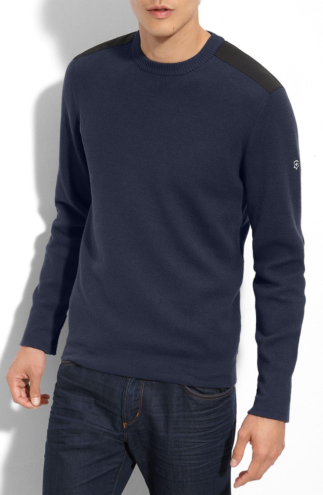 Main Image - Victorinox Swiss Army® 'Sleaford' Crewneck Sweater (Online Exclusive)