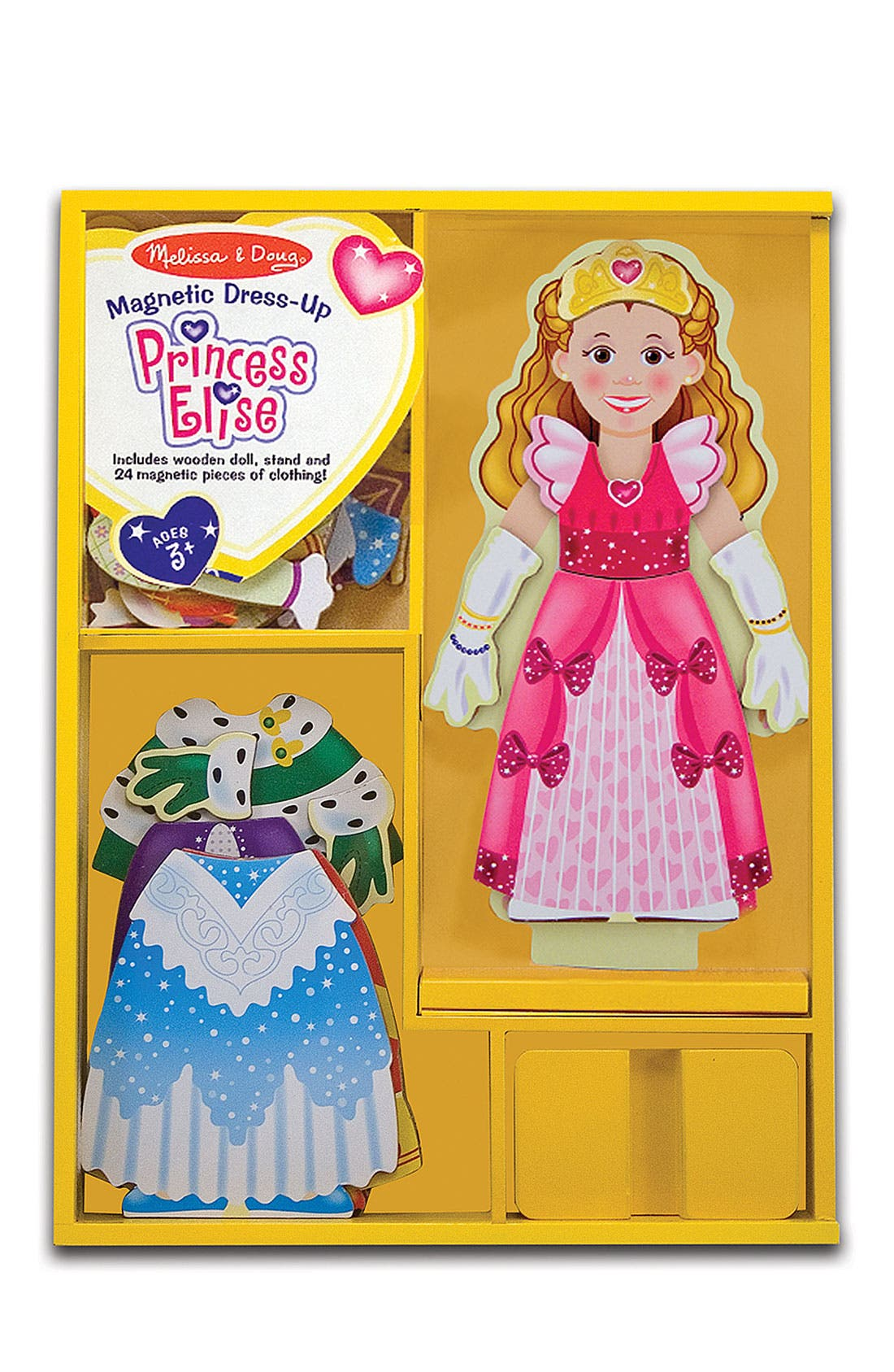 Magnetic Dress-Up Set,                         Main,                         color, Princess Blue
