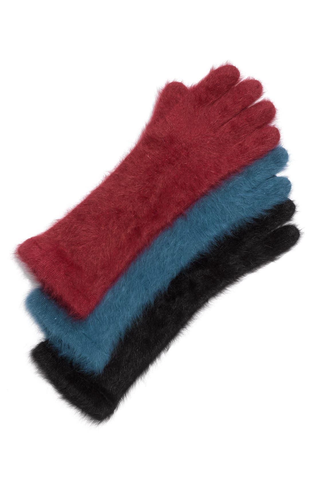 Alternate Image 1 Selected - Nordstrom Angora Blend Gloves