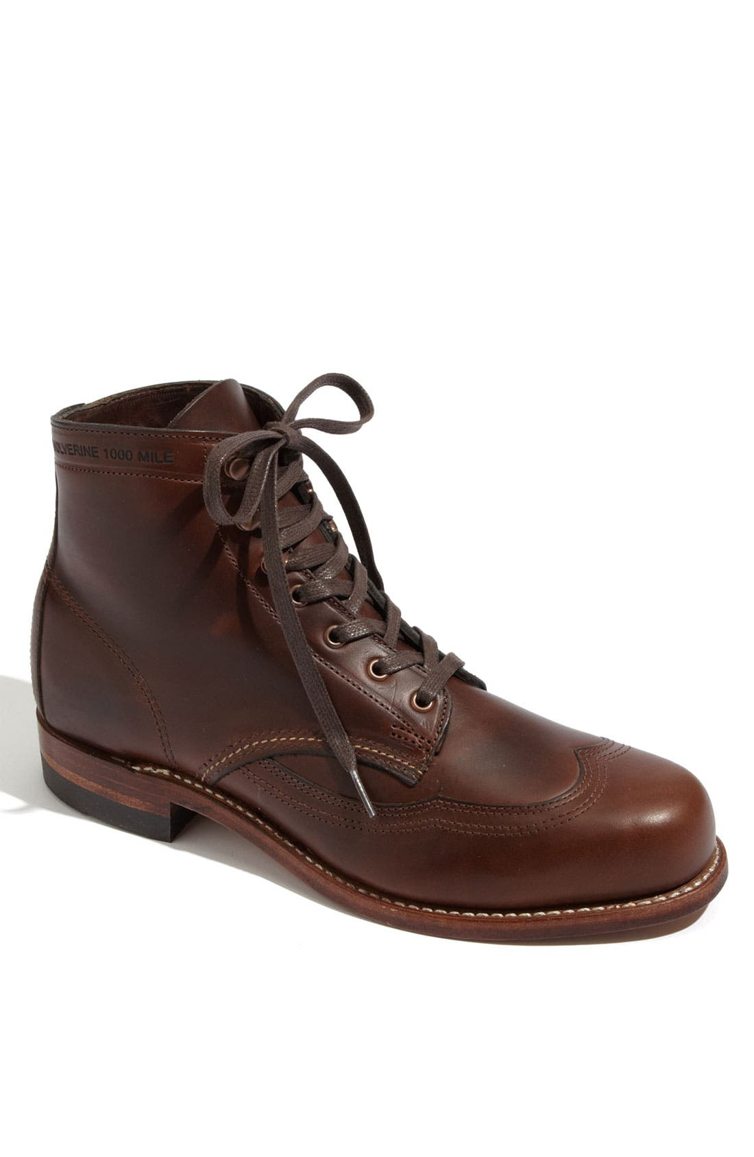 Main Image - Wolverine '1000 Mile - Addison' Wingtip Boot