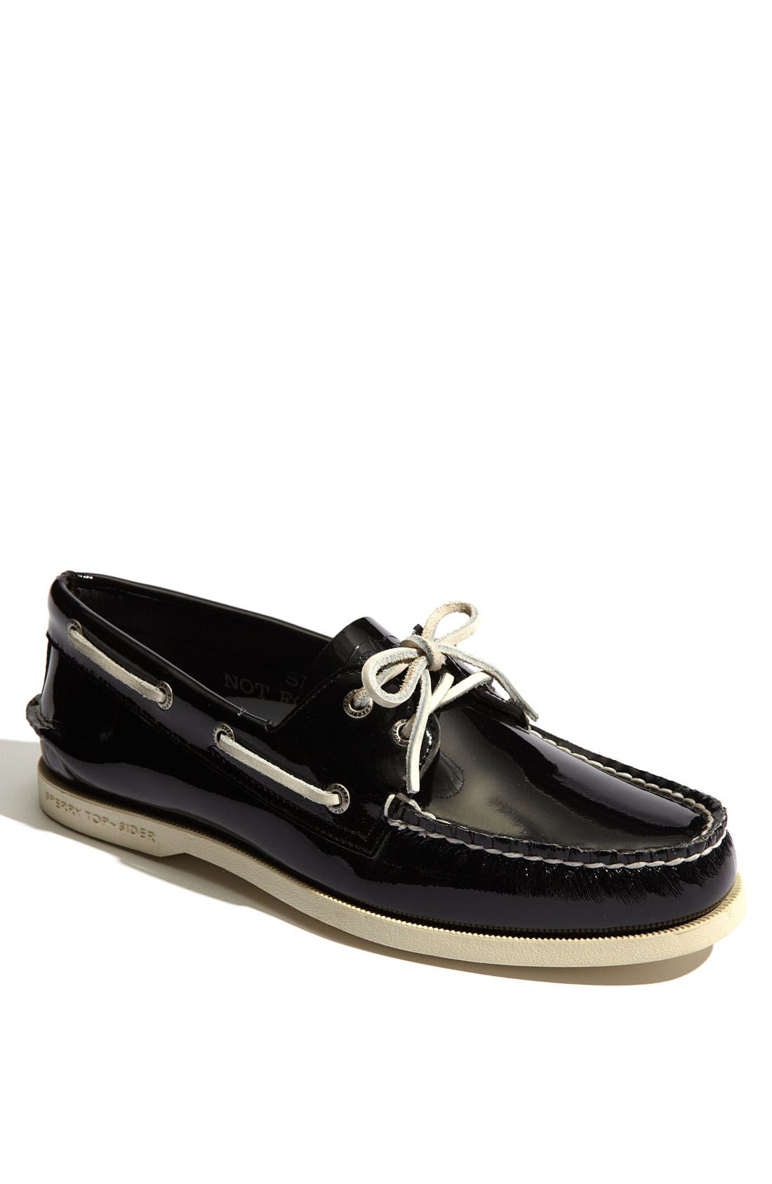 Alternate Image 1 Selected - Sperry Top-Sider® 'Authentic Original' Patent Leather Boat Shoe