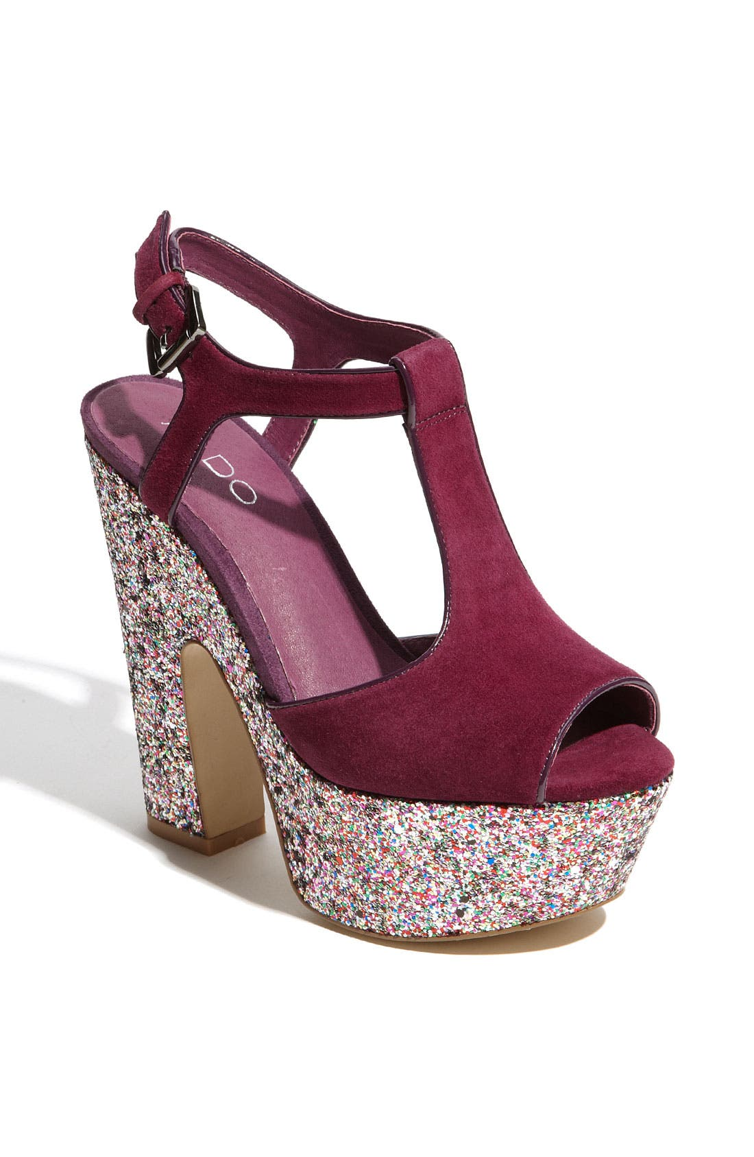 Alternate Image 1 Selected - ALDO 'Trejos Glitter' Sandal
