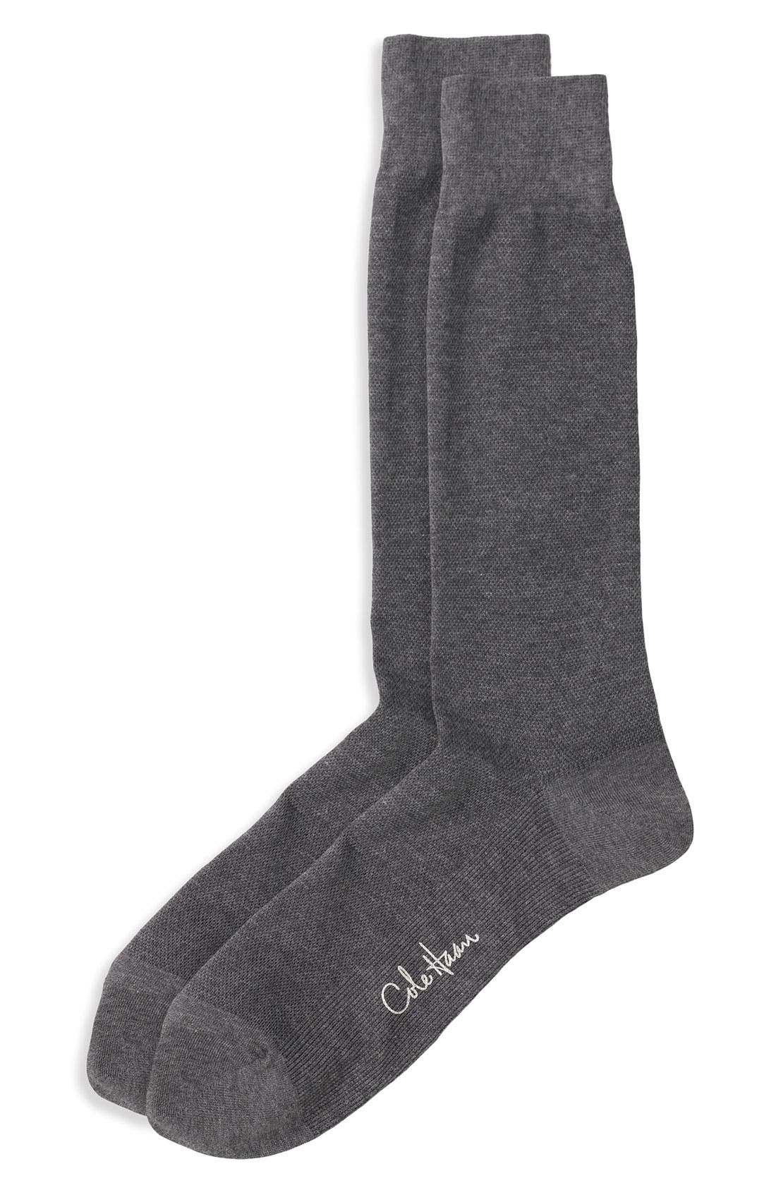 Alternate Image 1 Selected - Cole Haan Mid Calf Dress Socks