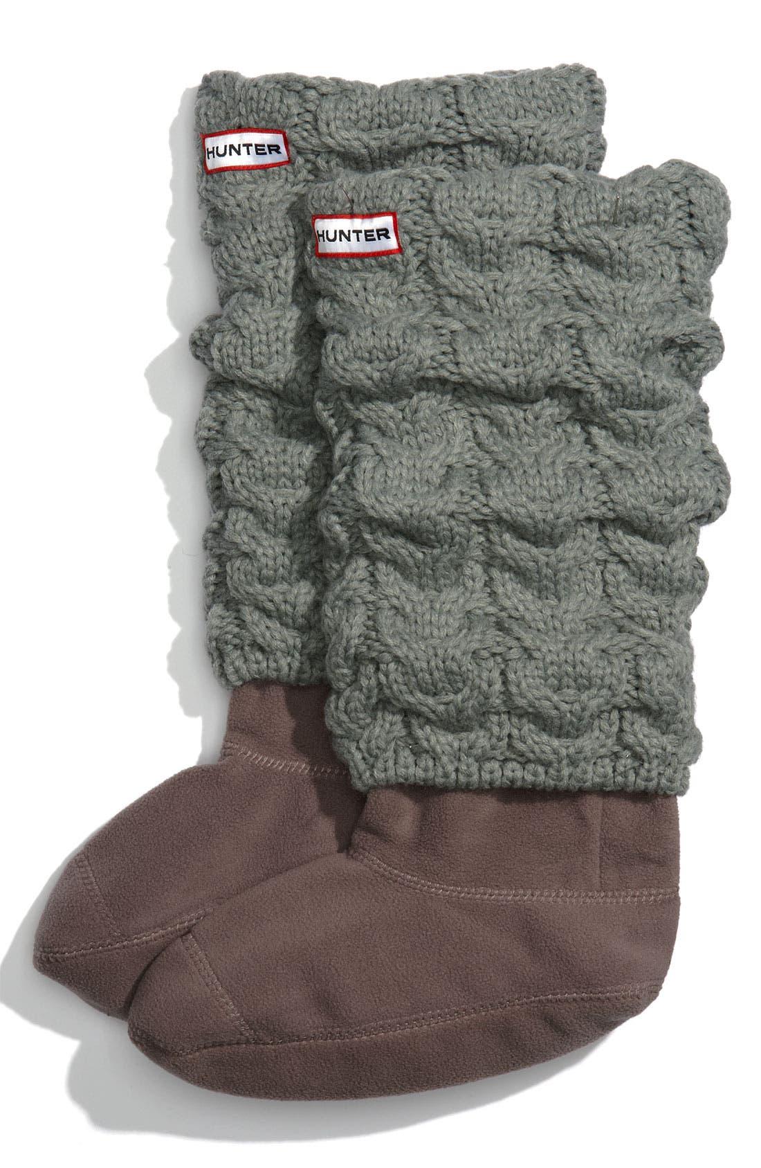 Main Image - Hunter Chunky Cable Socks