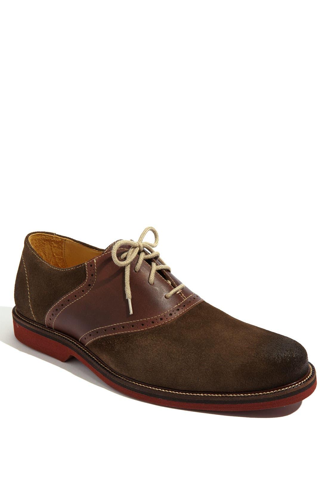Alternate Image 1 Selected - 1901 'Saddle Up' Saddle Shoe (Men)