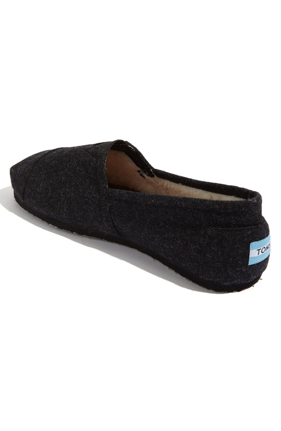 Alternate Image 2  - TOMS 'Classic' Woolen Slip-On (Men)
