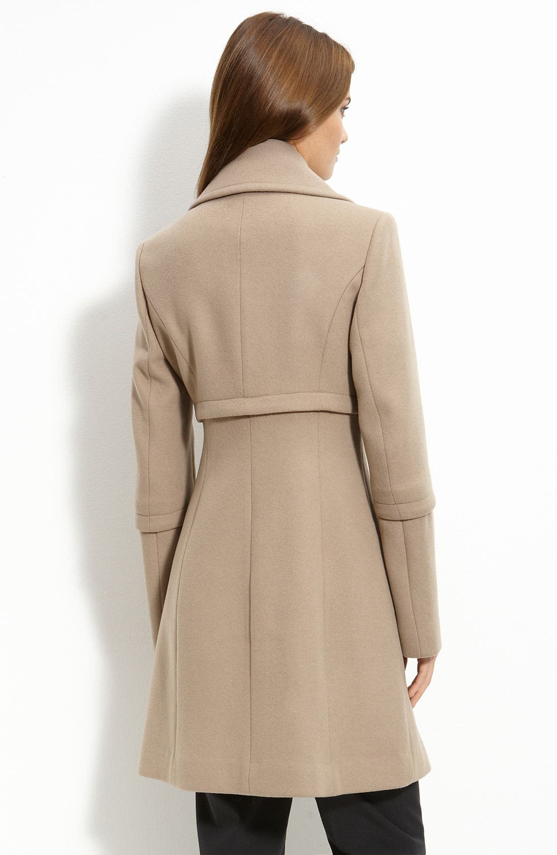 Alternate Image 2  - Elie Tahari Double Breasted Coat