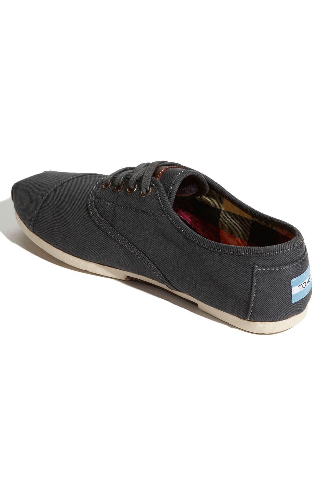 Alternate Image 2  - TOMS 'Cordones' Waxed Canvas Sneaker (Men)